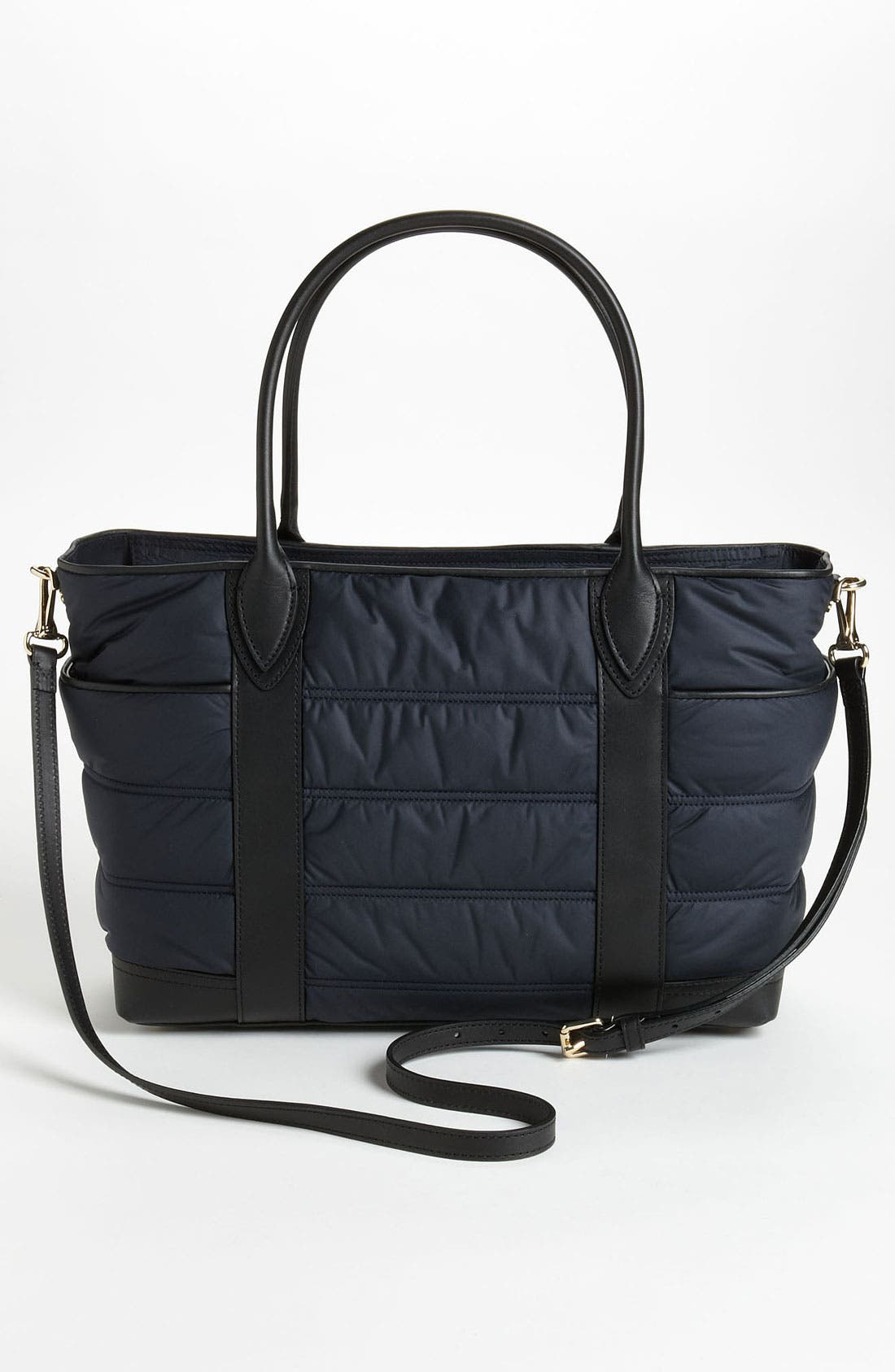Alternate Image 4  - Burberry 'Olympia - Large' Quilted Diaper Bag