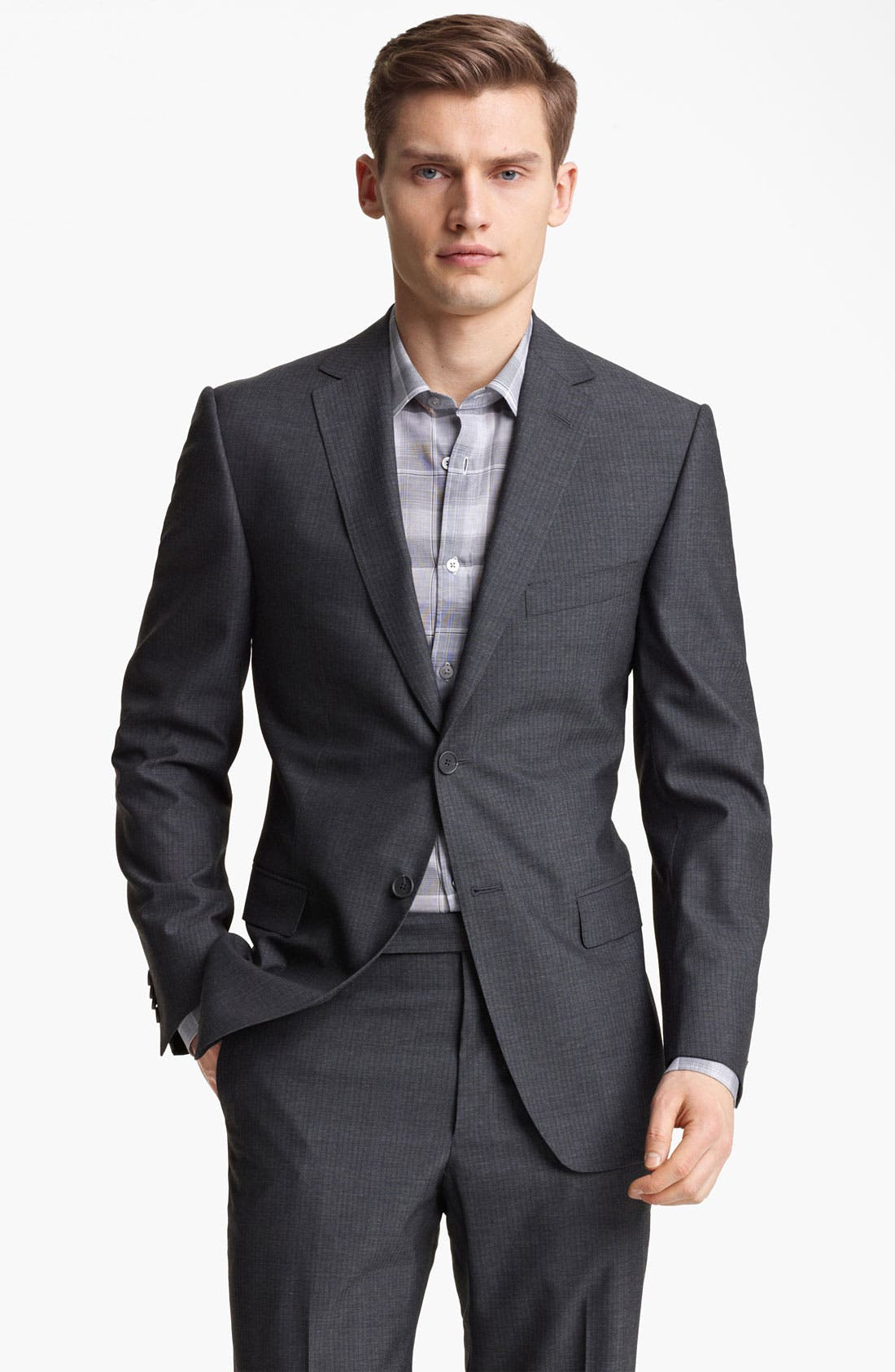 Main Image - Z Zegna Trim Fit Wool Suit