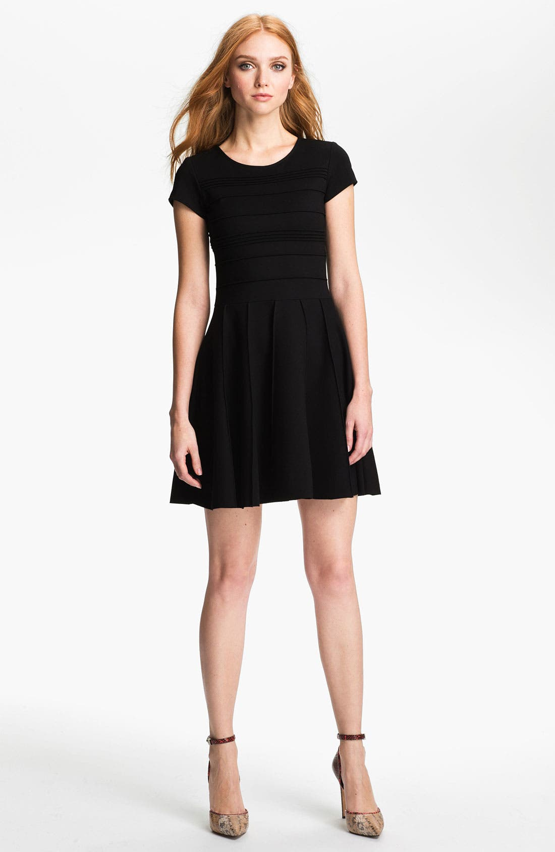 Main Image - Parker 'Tara' Stretch Fit & Flare Dress