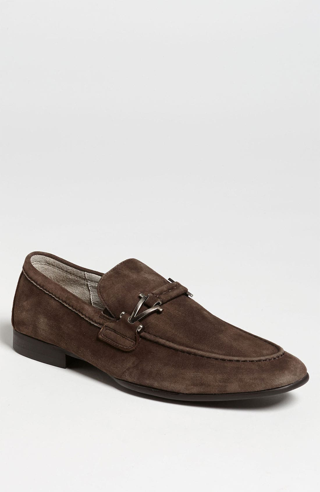 Alternate Image 1 Selected - Vince Camuto 'Castell' Suede Bit Loafer