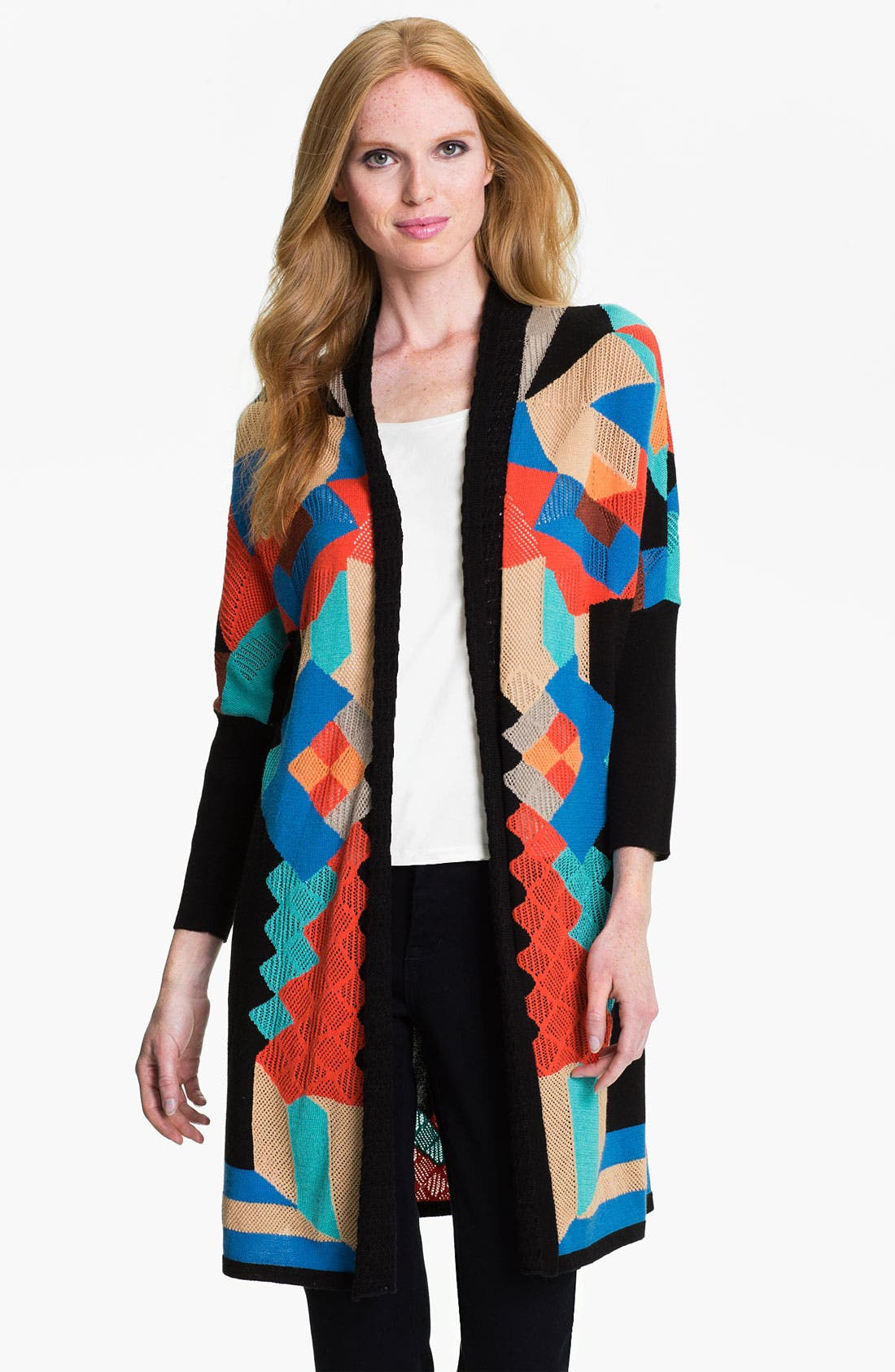 Alternate Image 1 Selected - Nic + Zoe 'Wonderland' Cardigan (Petite)