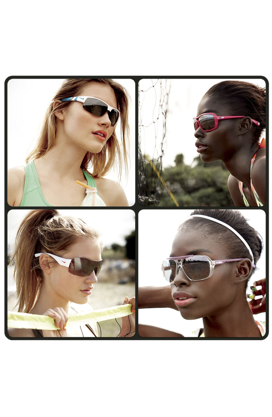 Alternate Image 2  - Nike 61mm Aviator Sunglasses