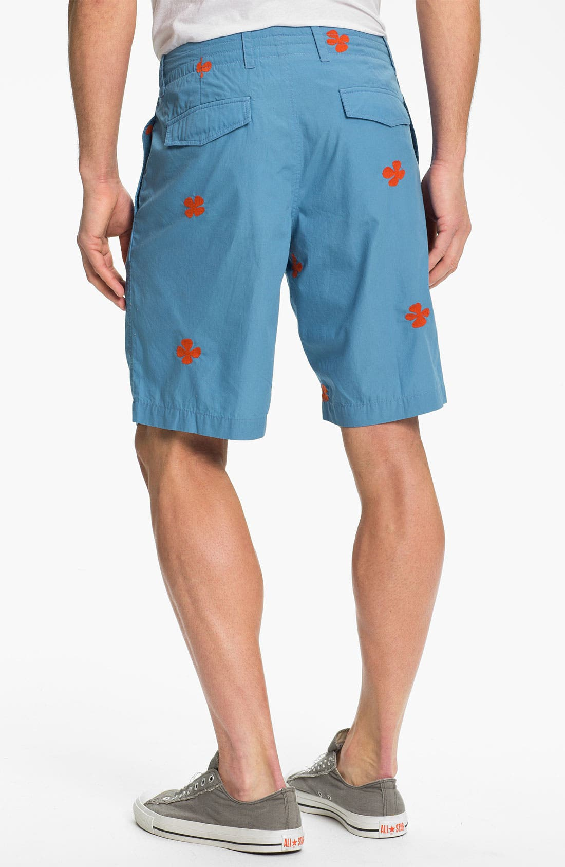 Alternate Image 2  - Burkman Bros Embroidered Shorts