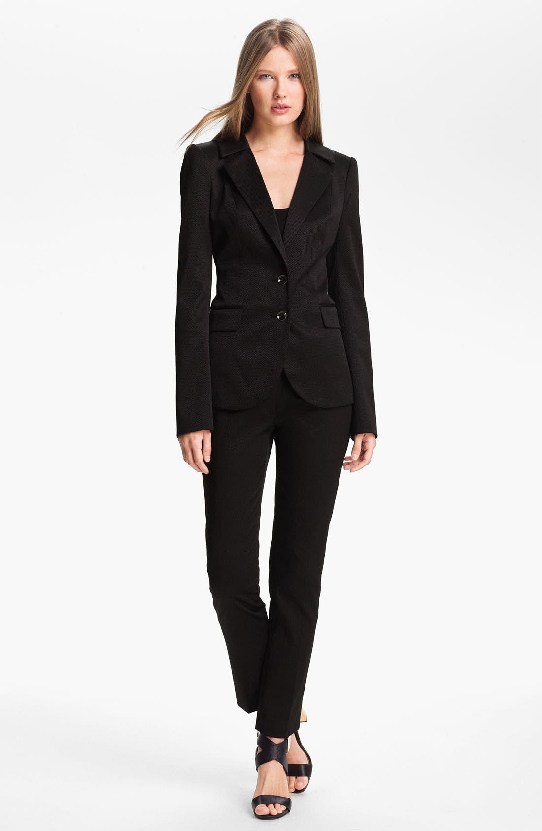 Alternate Image 1 Selected - Rachel Zoe 'Bryce' High Collar Blazer