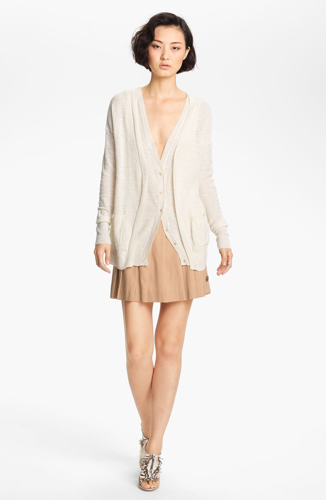 Main Image - Tracy Reese Double Placket Cardigan