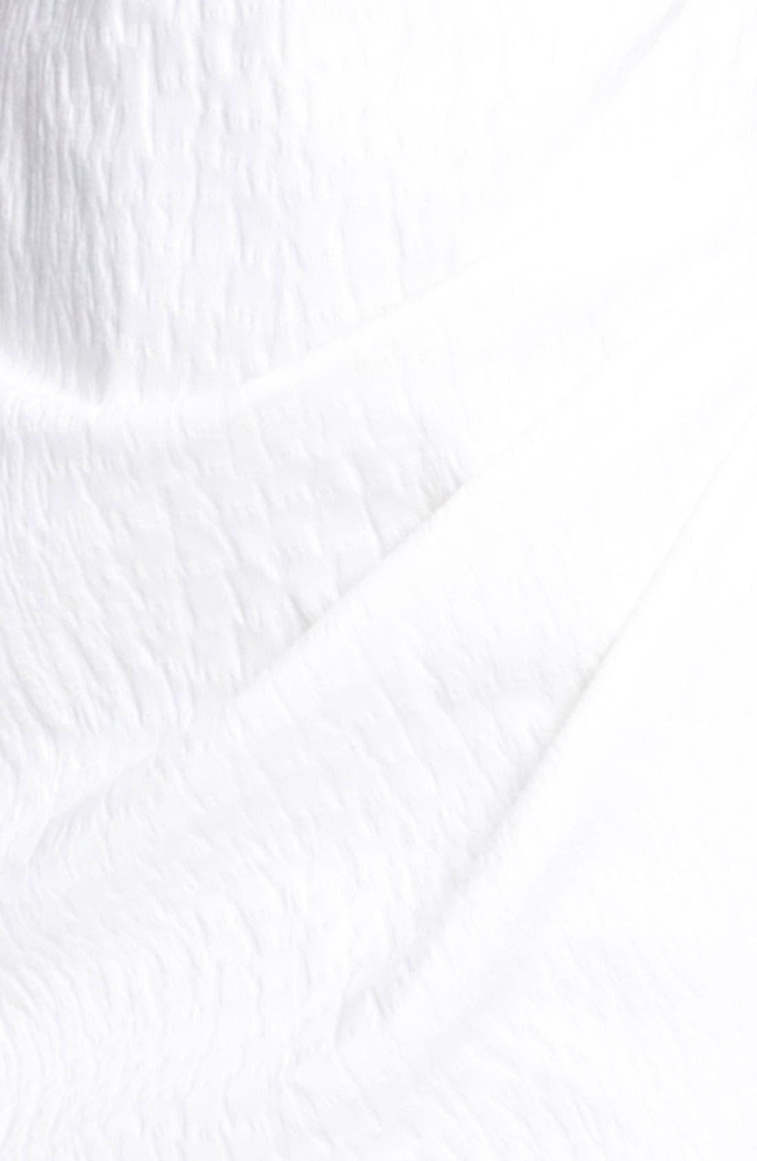 Alternate Image 3  - Max Mara Draped Stretch Jacquard Dress