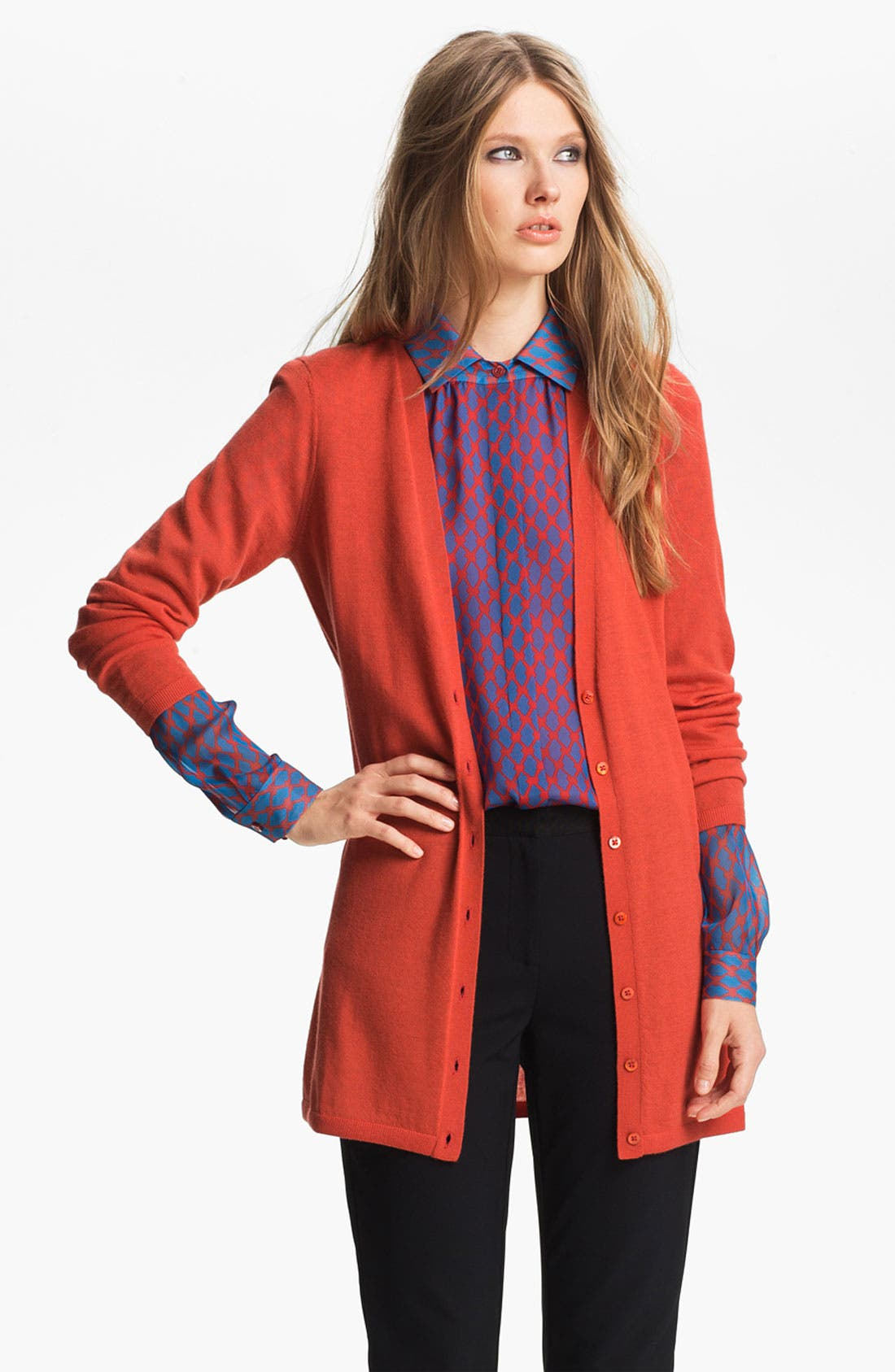 Alternate Image 1 Selected - Miss Wu 'Sofie' Cashmere Cardigan (Nordstrom Exclusive)