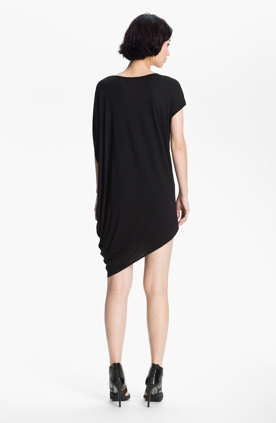 Alternate Image 2  - HELMUT Helmut Lang 'Kinetic' Asymmetrical Jersey Dress