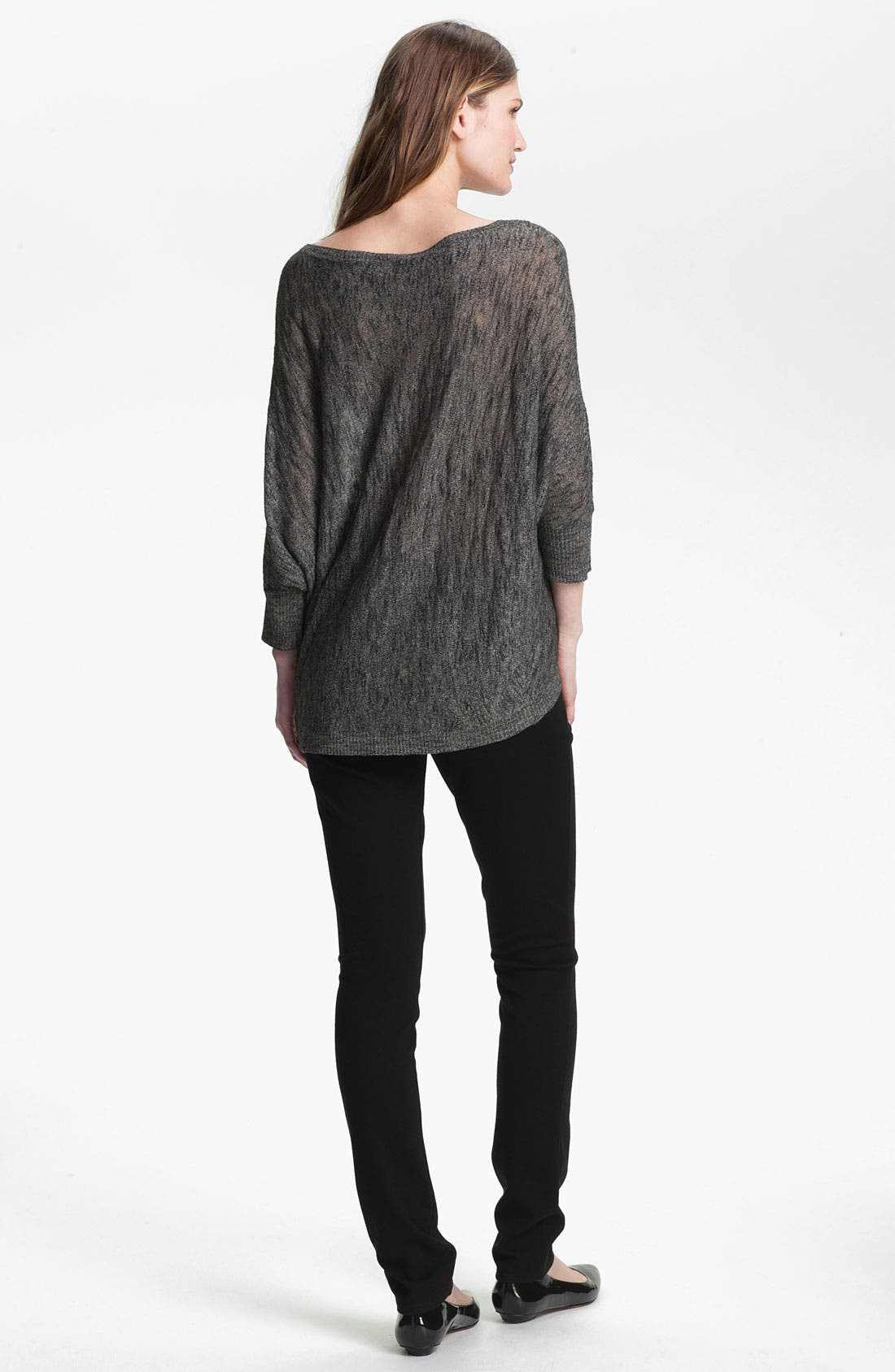 Alternate Image 5  - Eileen Fisher Bateau Neck Sweater (Online Exclusive)