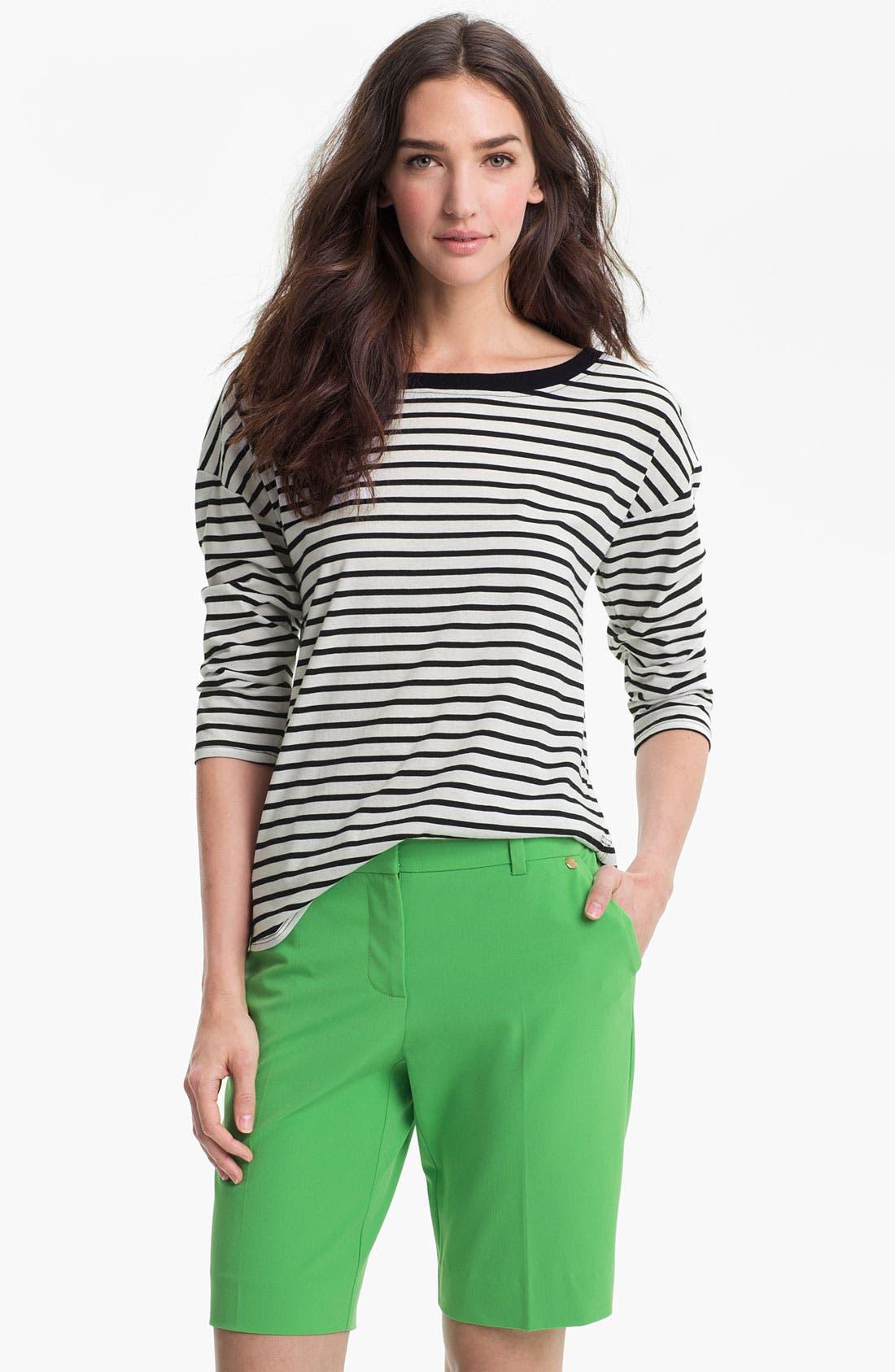 Alternate Image 1 Selected - Trina Turk Stripe Jersey Top