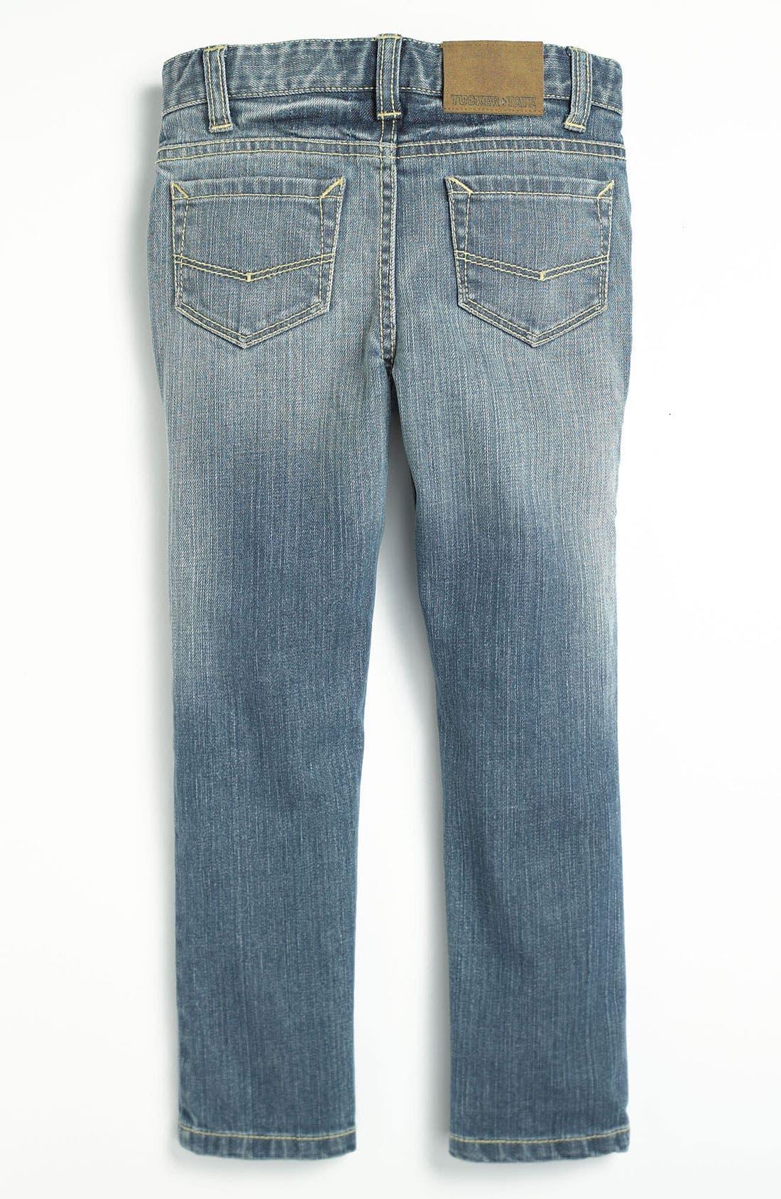 Alternate Image 1 Selected - Tucker + Tate Skinny Jeans (Little Girls)