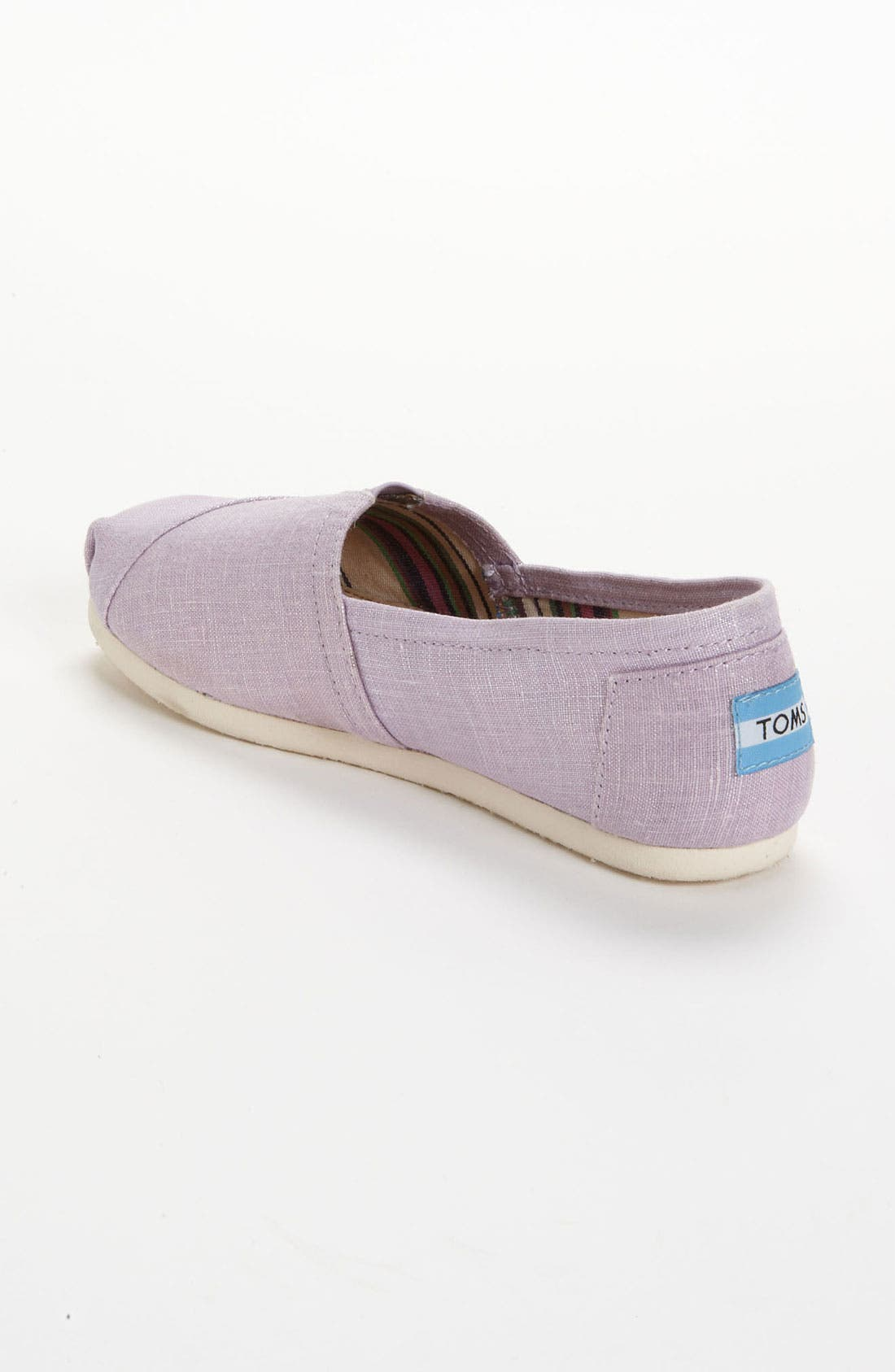 Alternate Image 2  - TOMS 'Classic' Metallic Slip-On (Women)