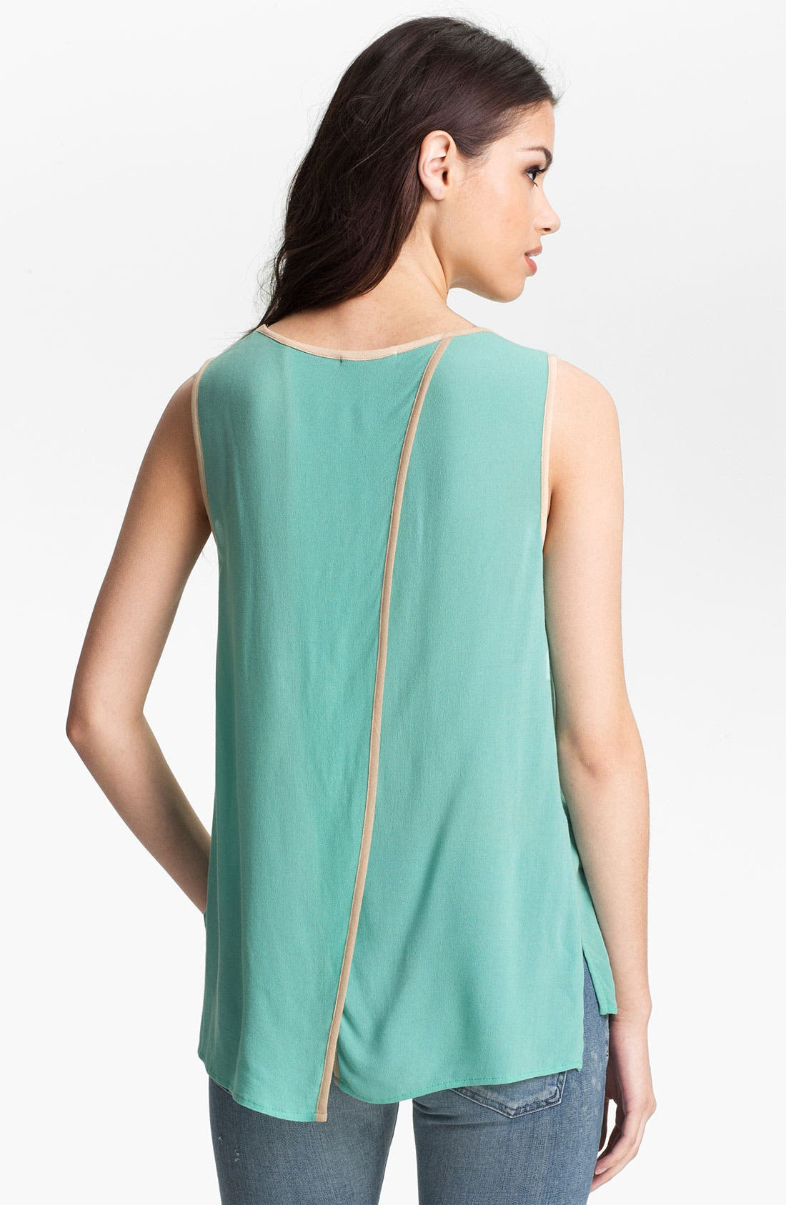 Alternate Image 2  - Ella Moss 'Stella' Split Back Tank