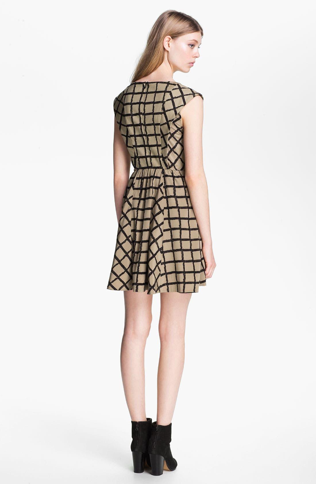Alternate Image 2  - rag & bone 'Lorie' Windowpane Dress
