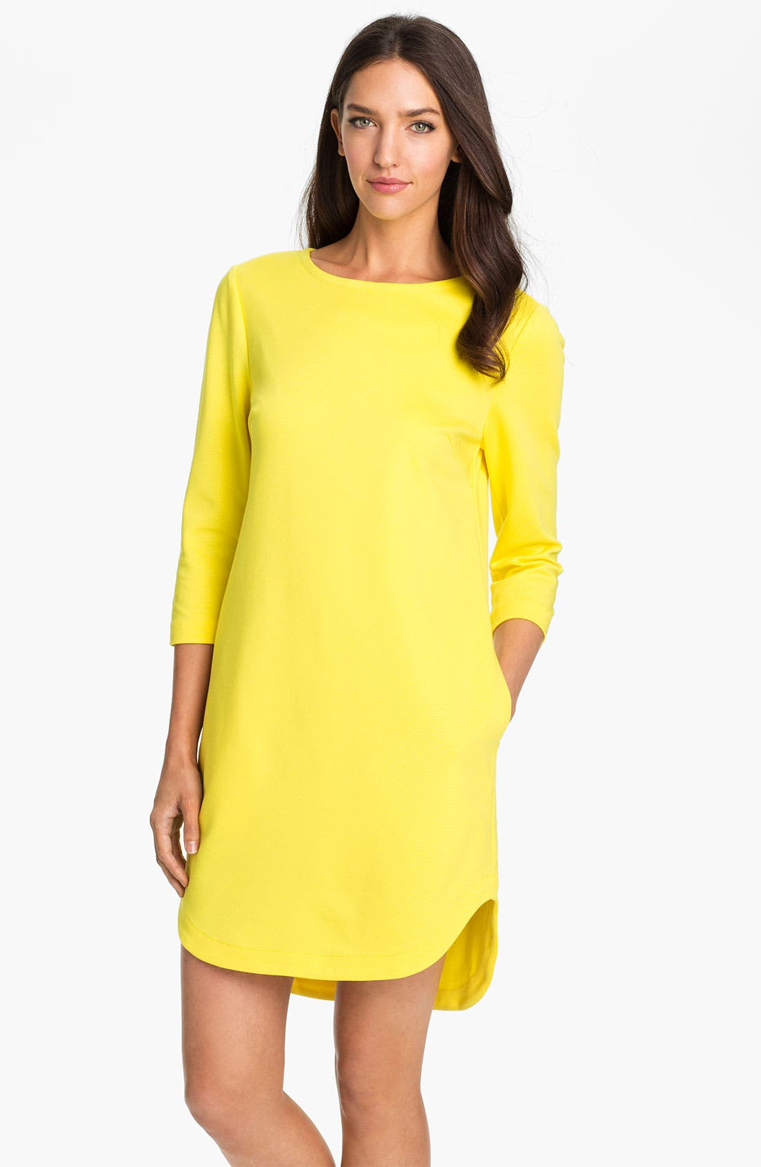 Main Image - Trina Turk 'Sculptor' Boatneck Shift Dress