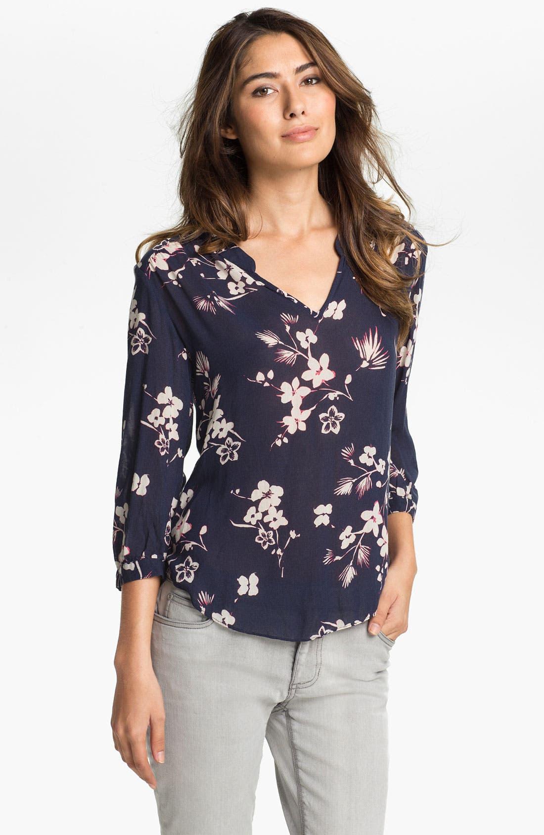 Main Image - Lucky Brand 'Sara - Cherry Blossom' Blouse