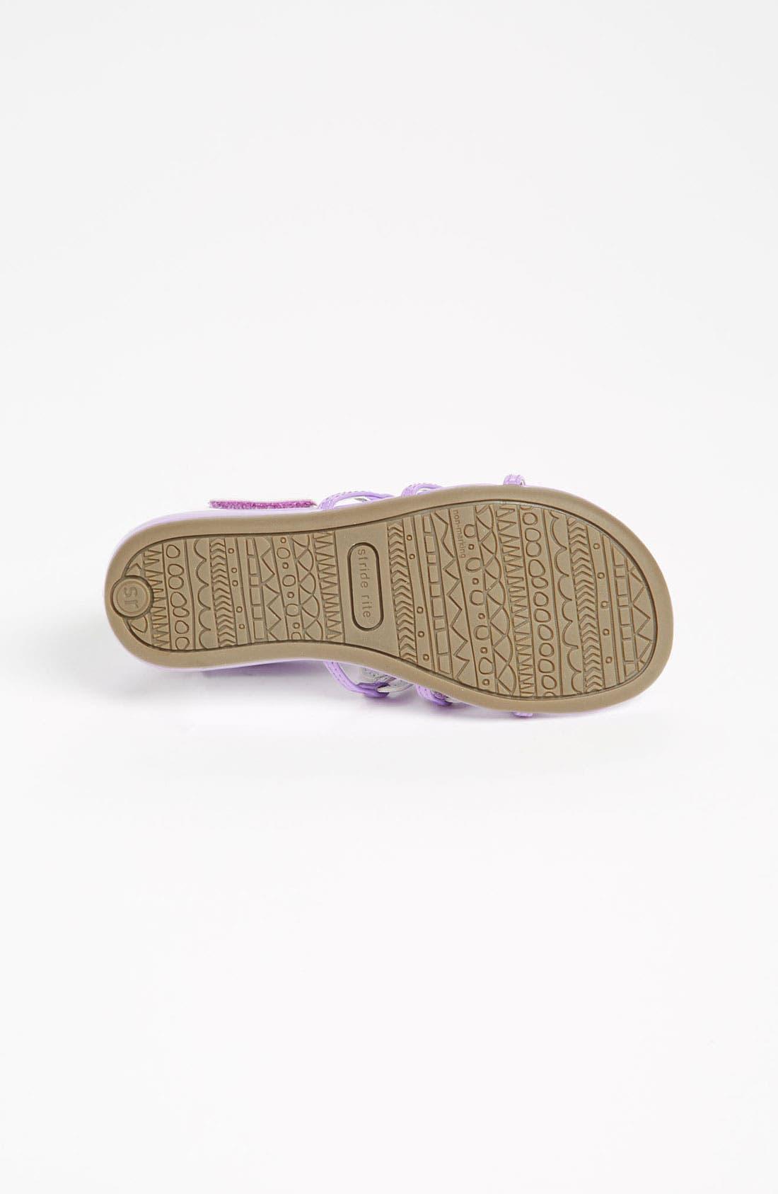 Alternate Image 4  - Stride Rite 'Wakely' Sandal (Toddler)