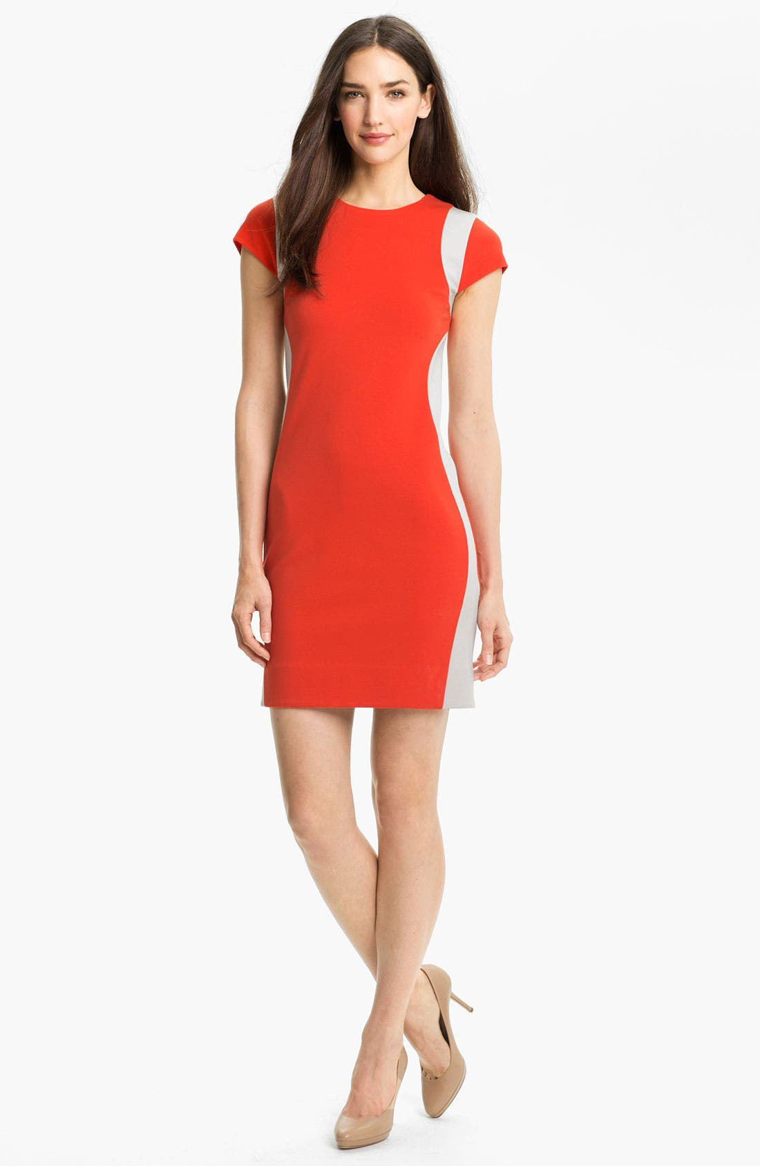 Alternate Image 1 Selected - Diane von Furstenberg 'Pele' Knit Sheath Dress