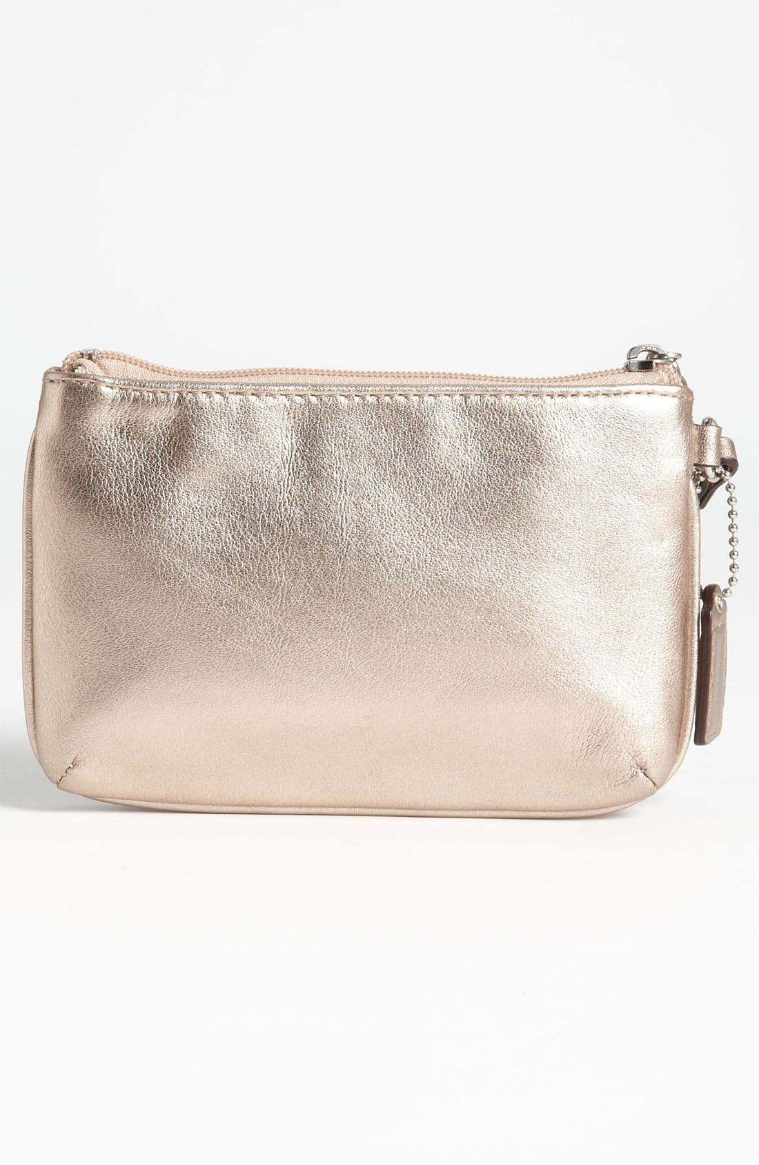 Alternate Image 4  - COACH 'Small' Leather Wristlet