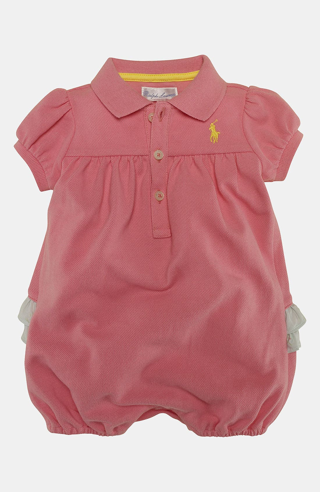 Alternate Image 1 Selected - Ralph Lauren Coveralls (Baby)