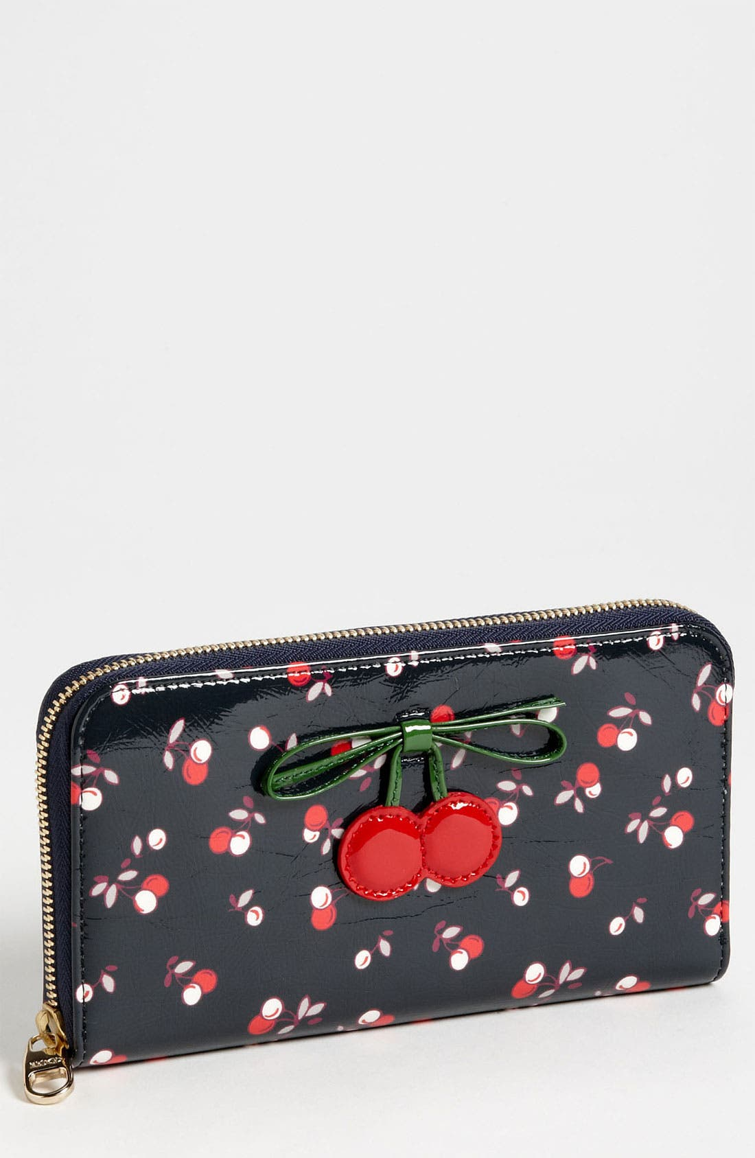 Main Image - RED Valentino 'Cherry - Large' Zip Wallet