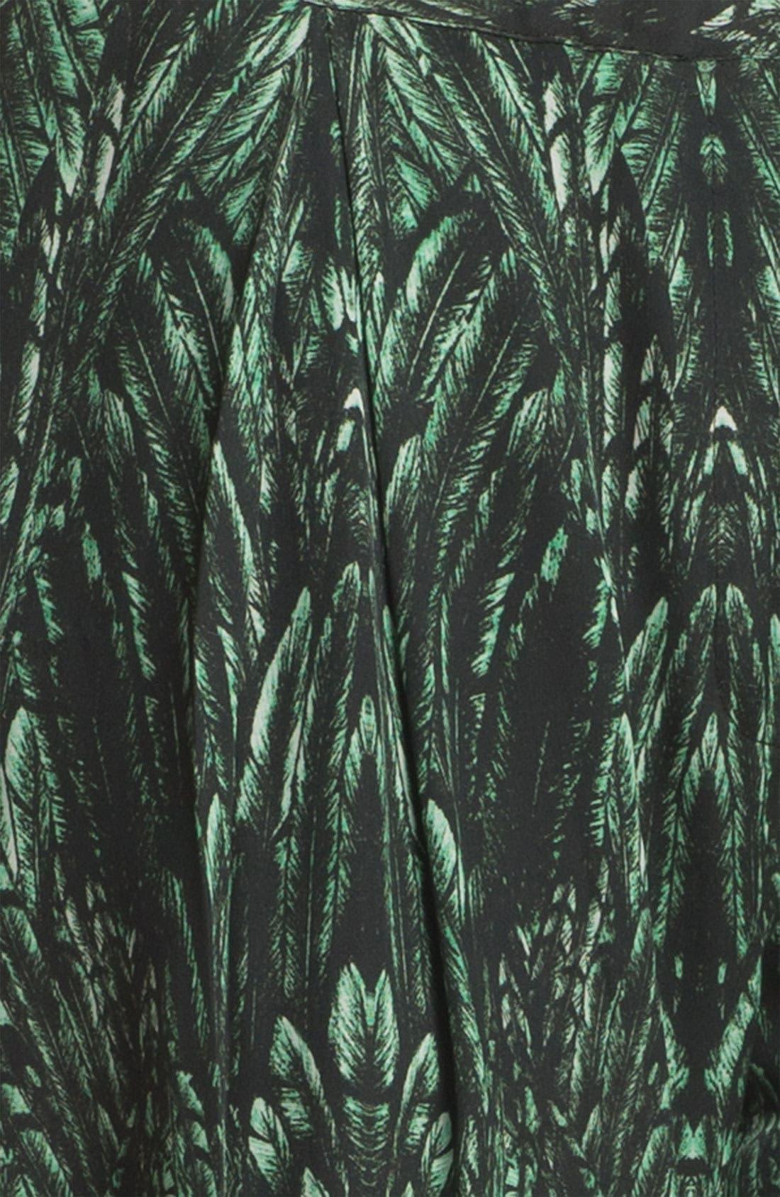 Alternate Image 5  - Haute Hippie Print Drawstring Trousers