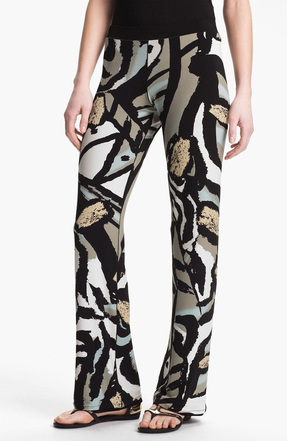 Alternate Image 1 Selected - Eva Varro Reversible Flare Leg Pants