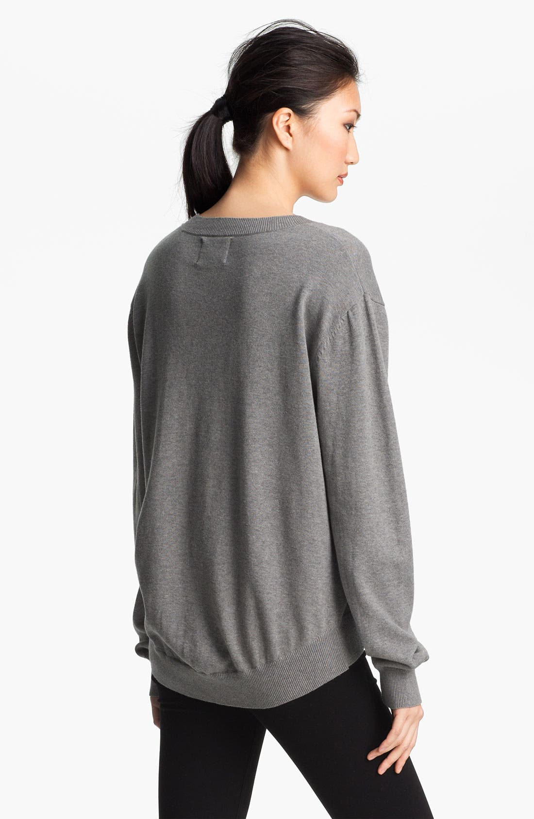 Alternate Image 3  - Markus Lupfer Sequin Cartoon Face Sweater