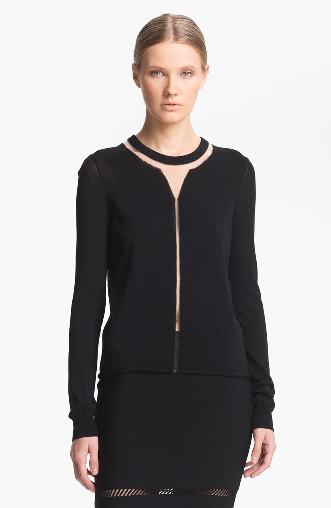 Alternate Image 2  - Alexander Wang 'Floating Spine' Pullover