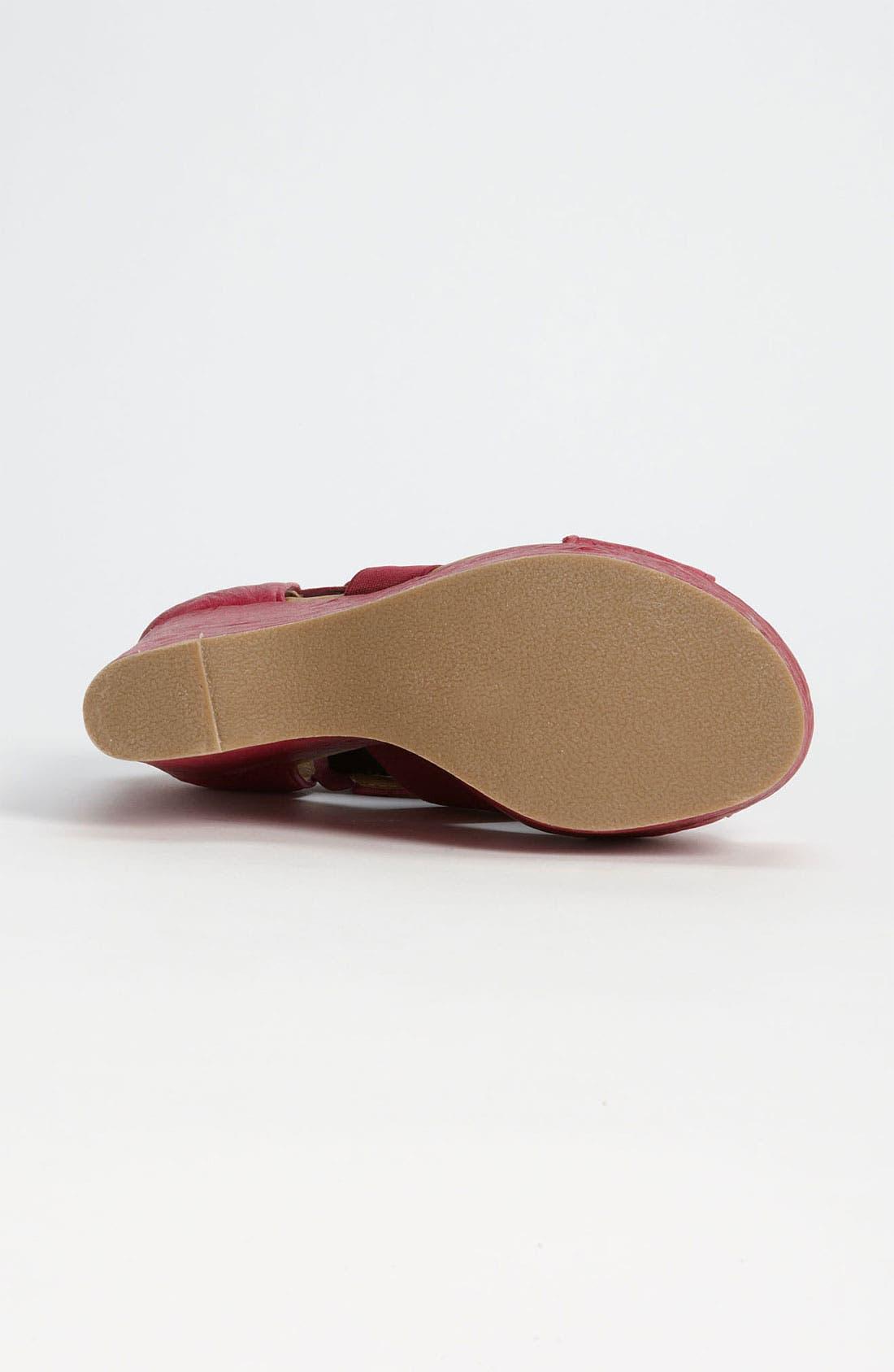 Alternate Image 4  - Fugu Malibu 'Happy' Sandal