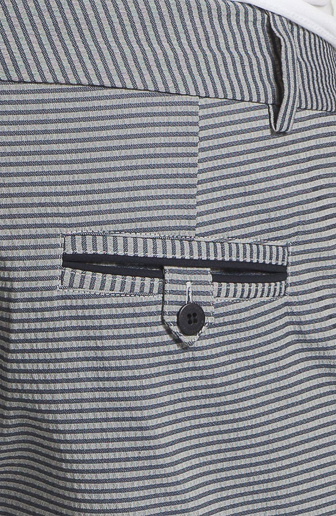 Alternate Image 5  - Number:LAB Flat Front Shorts