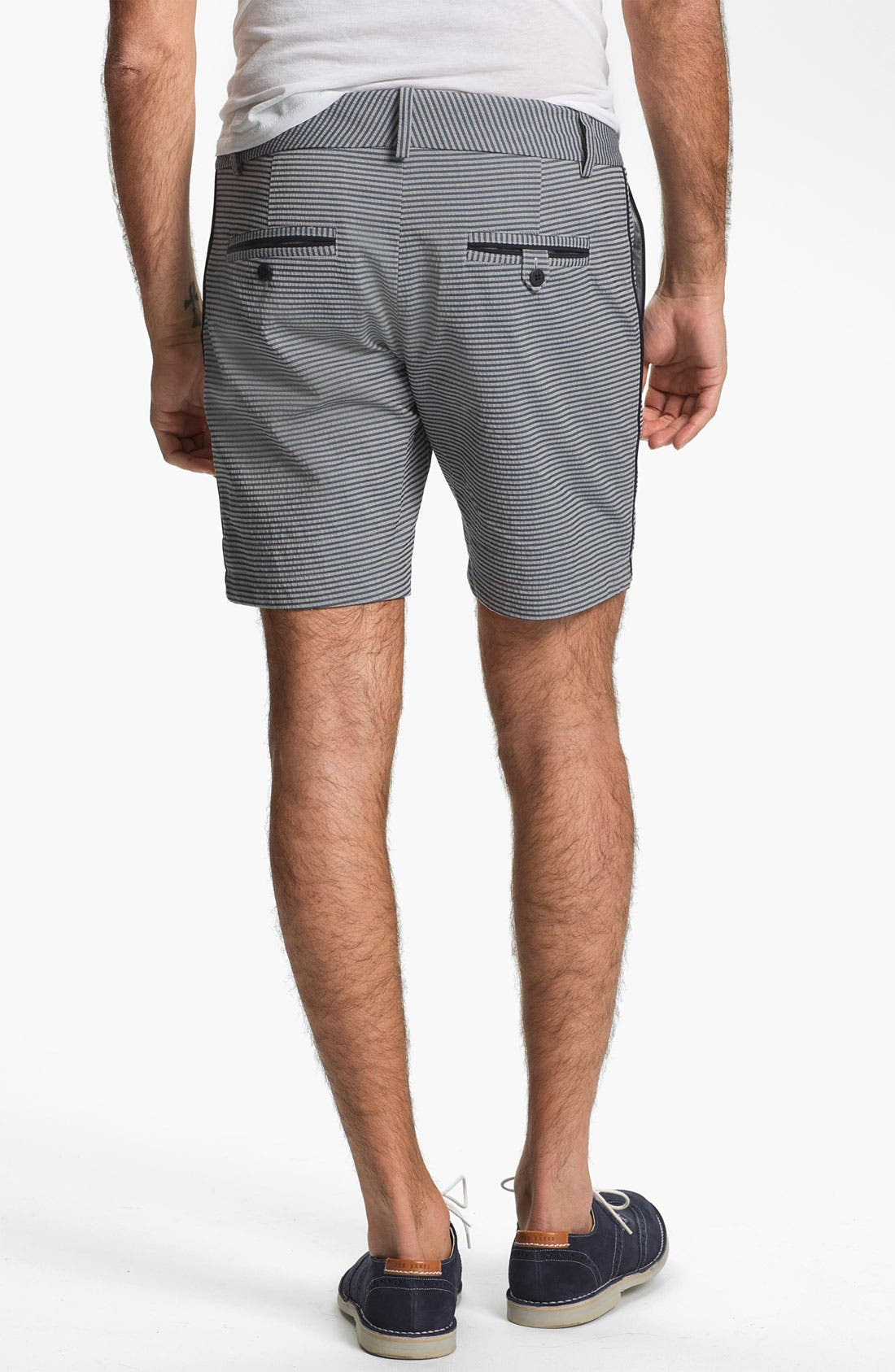 Alternate Image 4  - Number:LAB Flat Front Shorts