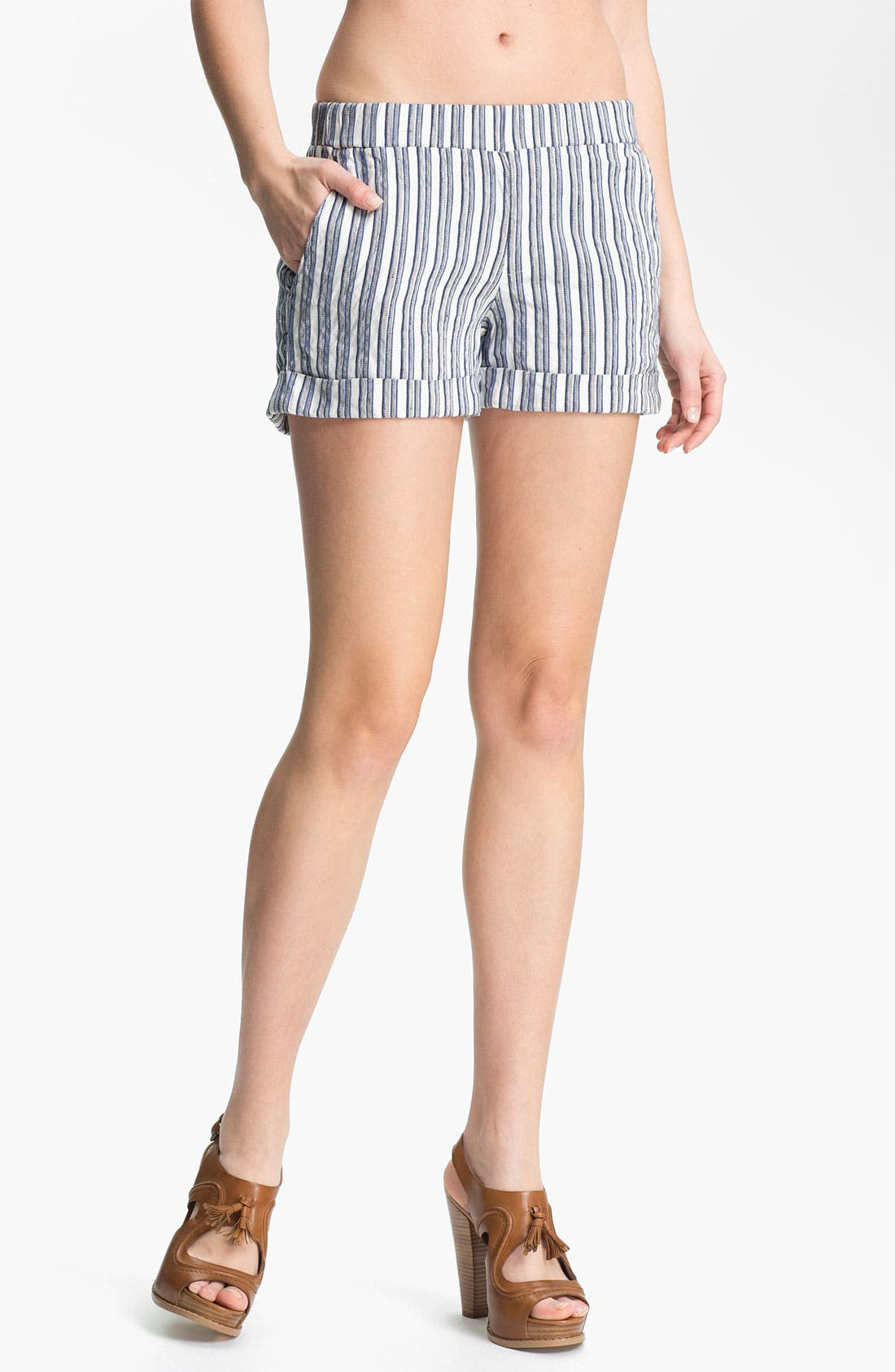 Main Image - Ella Moss 'Kaycee' Stripe Shorts