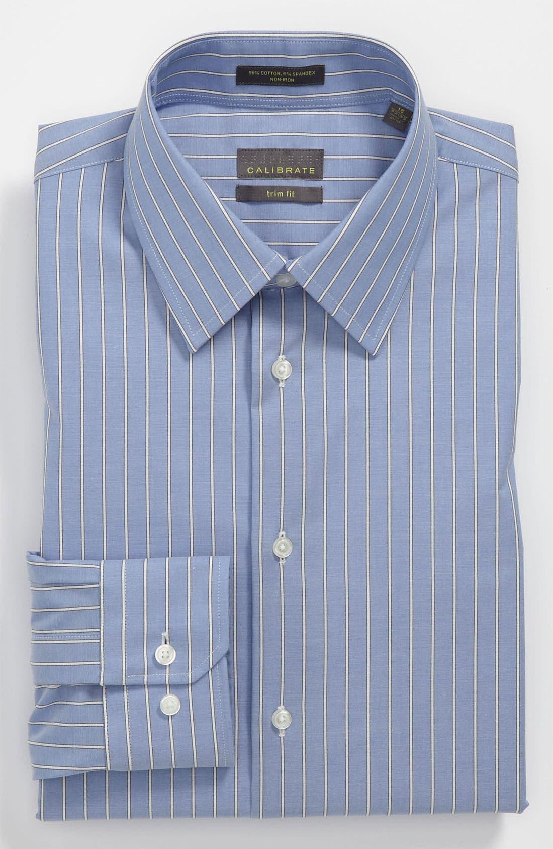 Main Image - Calibrate Trim Fit Non-Iron Dress Shirt