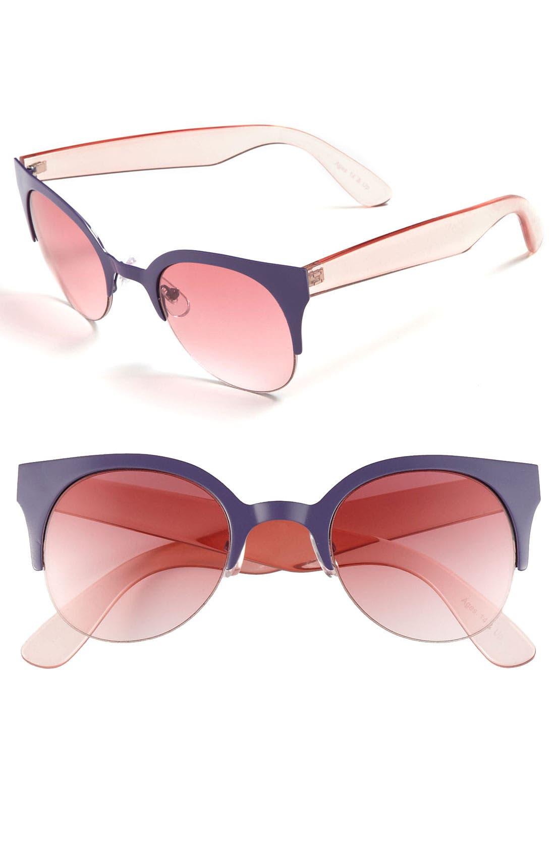 Main Image - FE NY 'Cool Cat' Sunglasses