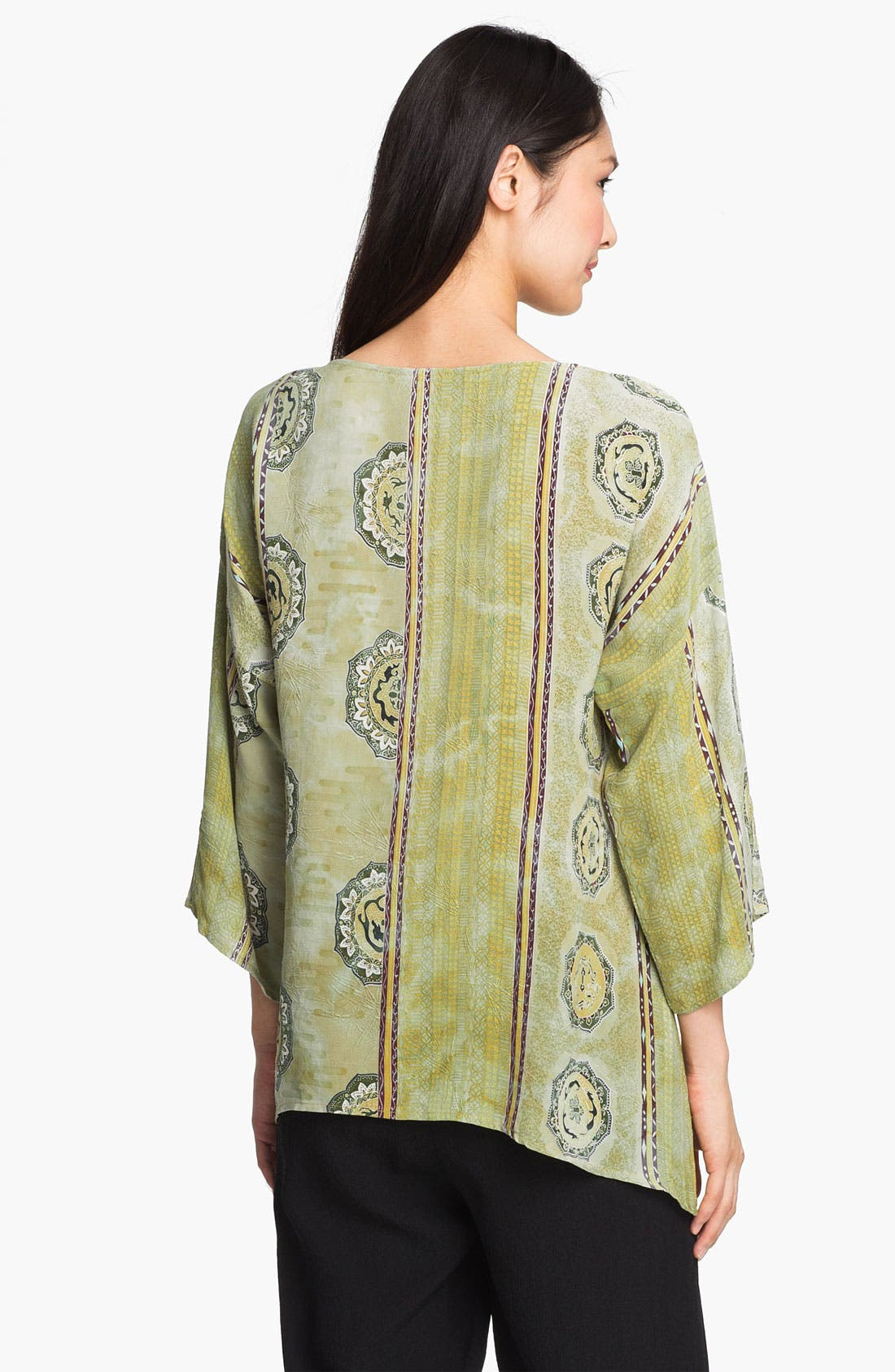 Alternate Image 2  - Citron Silk Blouse