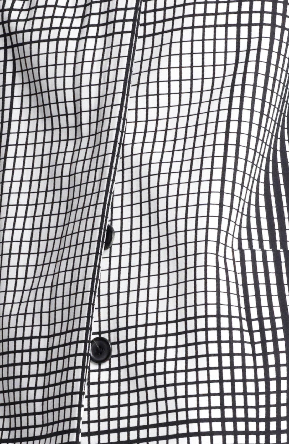 Alternate Image 3  - MARC JACOBS Dégradé Stripe Coat