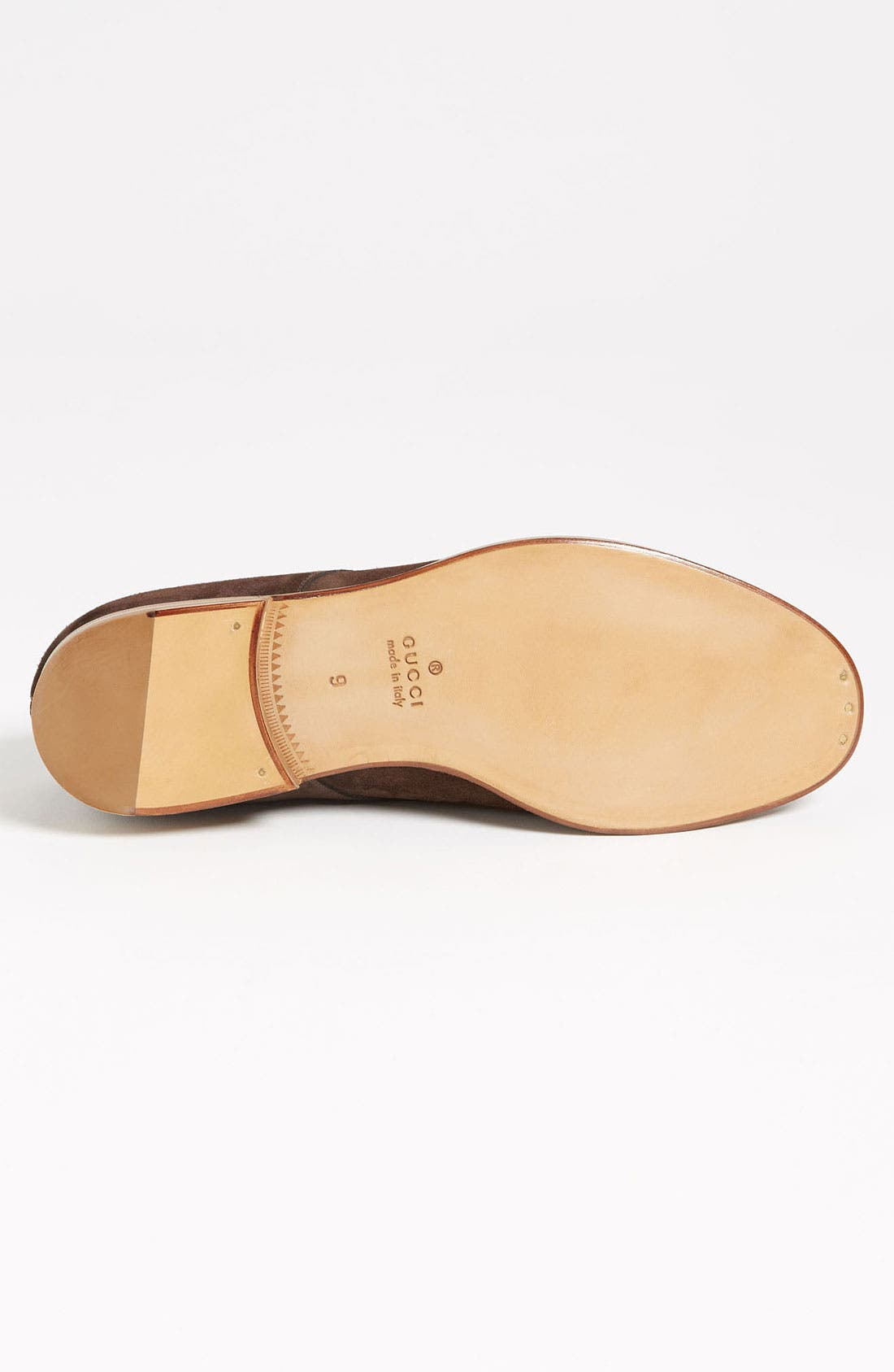 Alternate Image 4  - Gucci 'Clerck' Buck Shoe