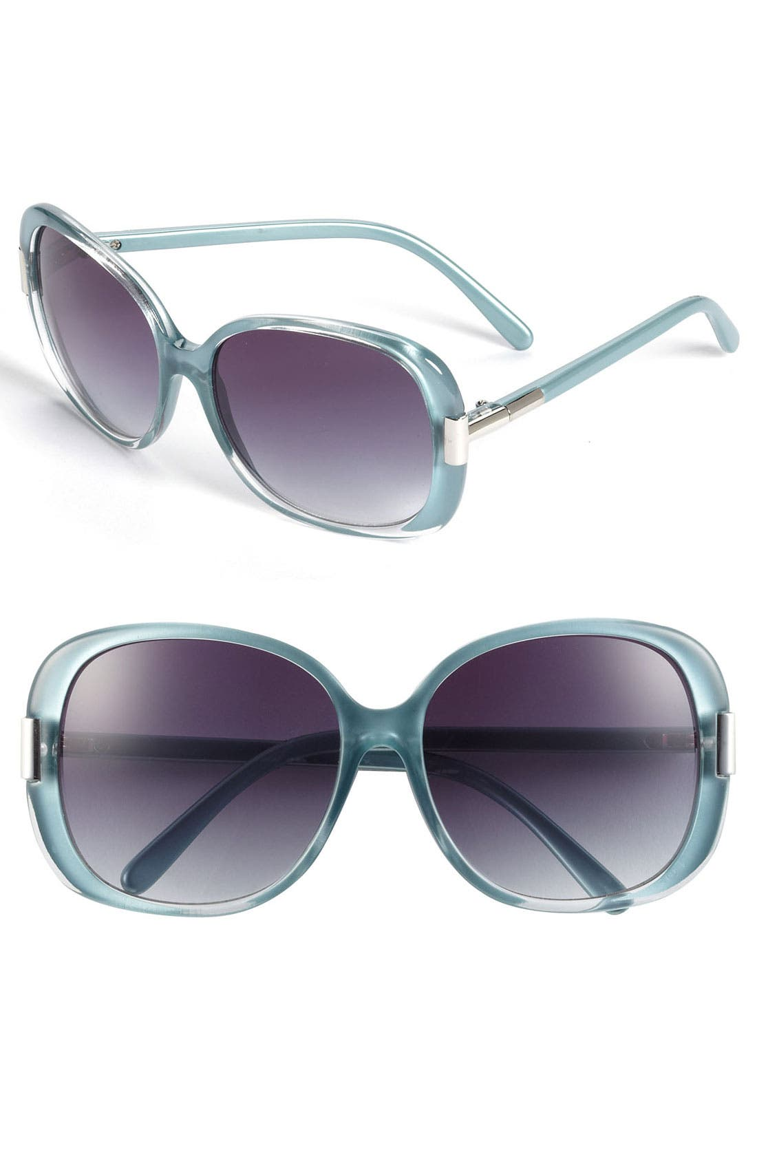 Main Image - Halogen Oversized 57mm Sunglasses