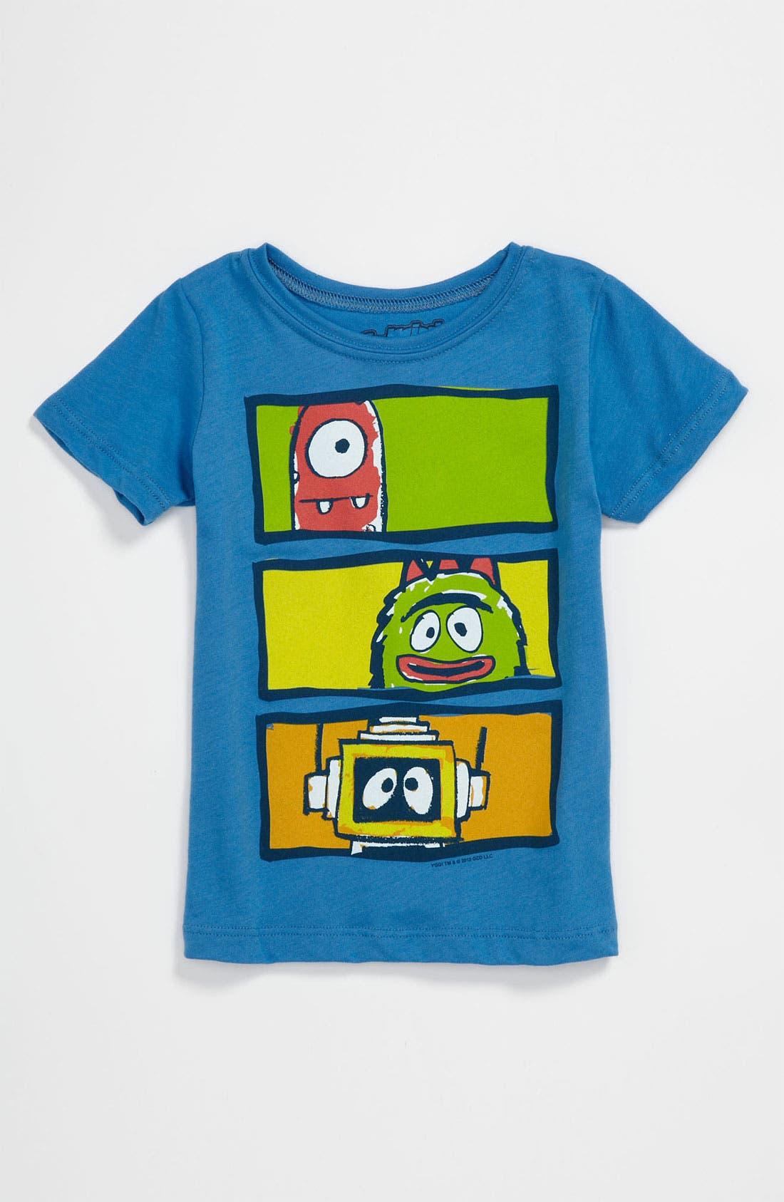 Alternate Image 1 Selected - Mighty Fine 'Yo Gabba Gabba!™' T-Shirt (Toddler)