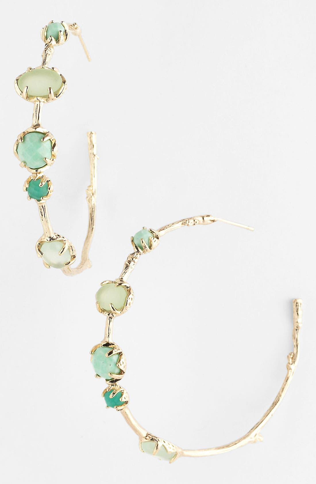 Alternate Image 1 Selected - Kendra Scott Station Hoop Earrings