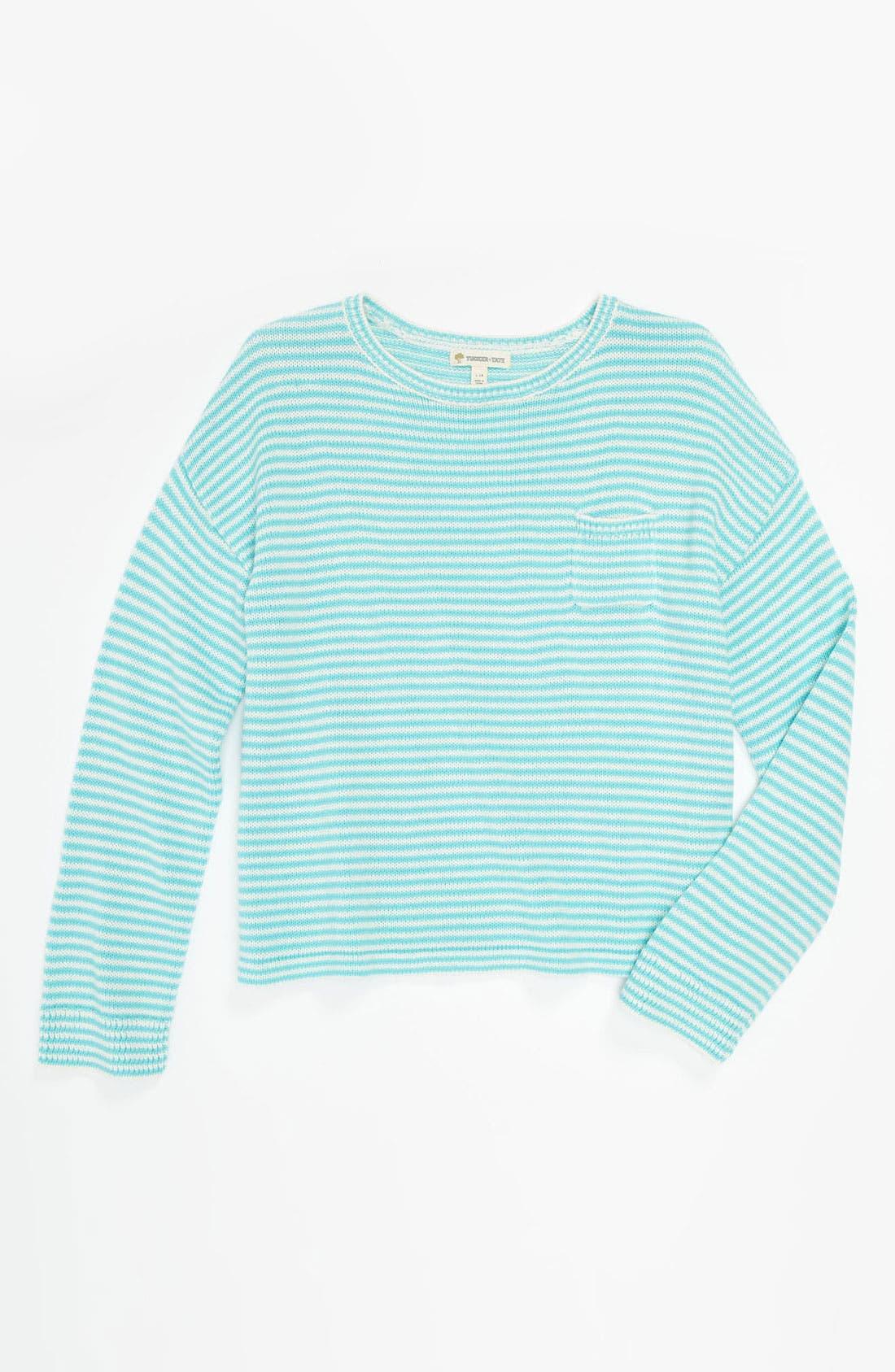 Main Image - Tucker + Tate 'Marlin' Sweater (Big Girls)