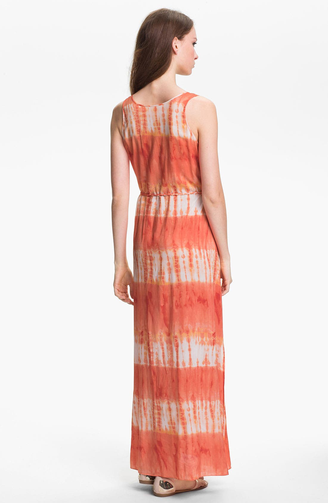 Alternate Image 2  - Two by Vince Camuto Tie Waist Maxi Dress