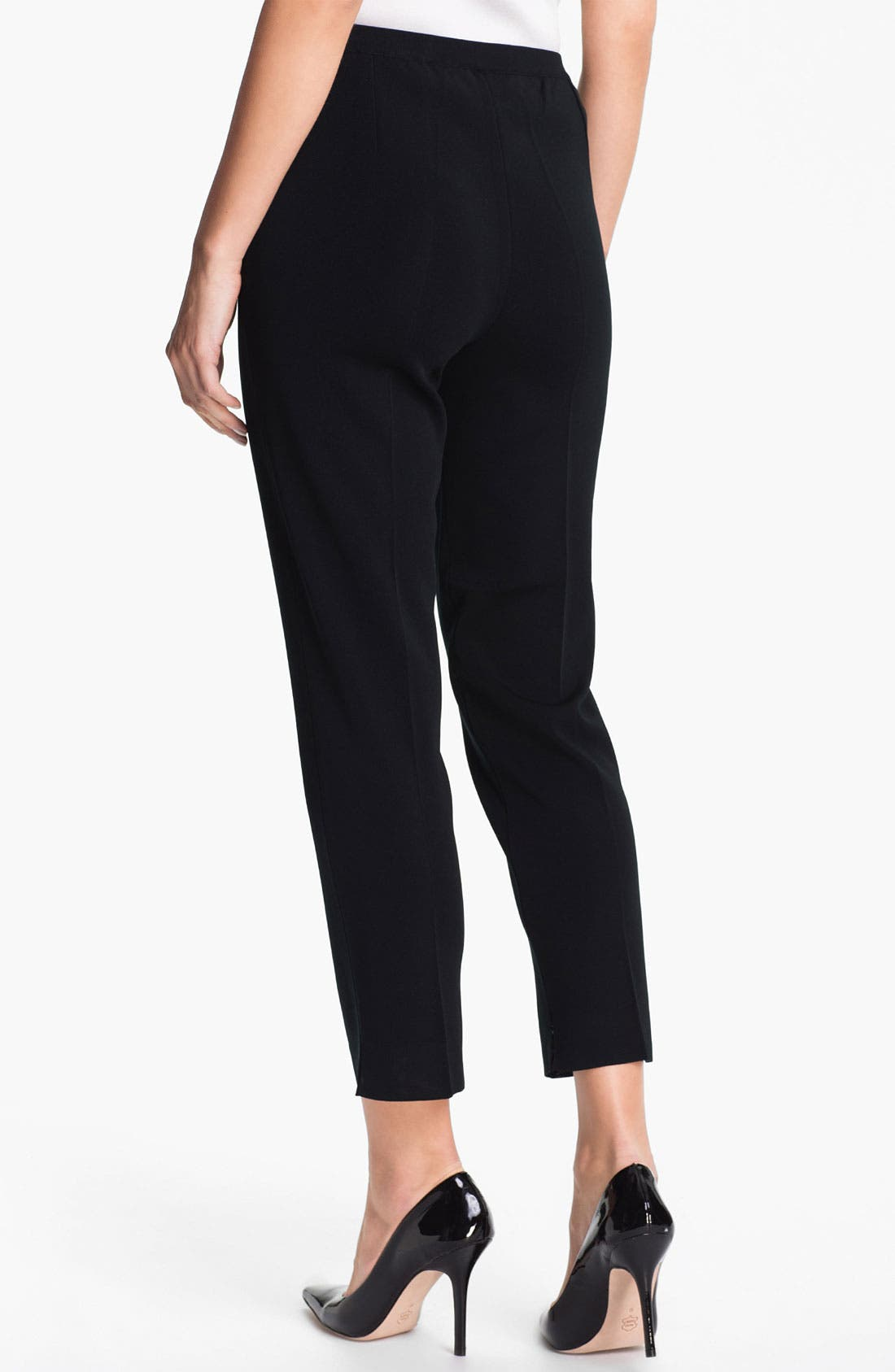 Alternate Image 2  - Ming Wang Pull-On Ankle Pants