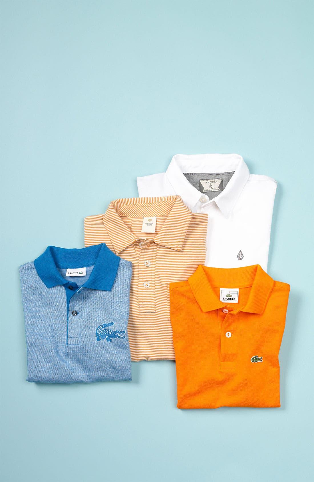 Alternate Image 2  - Lacoste Heathered Jersey Polo (Little Boys & Big Boys)