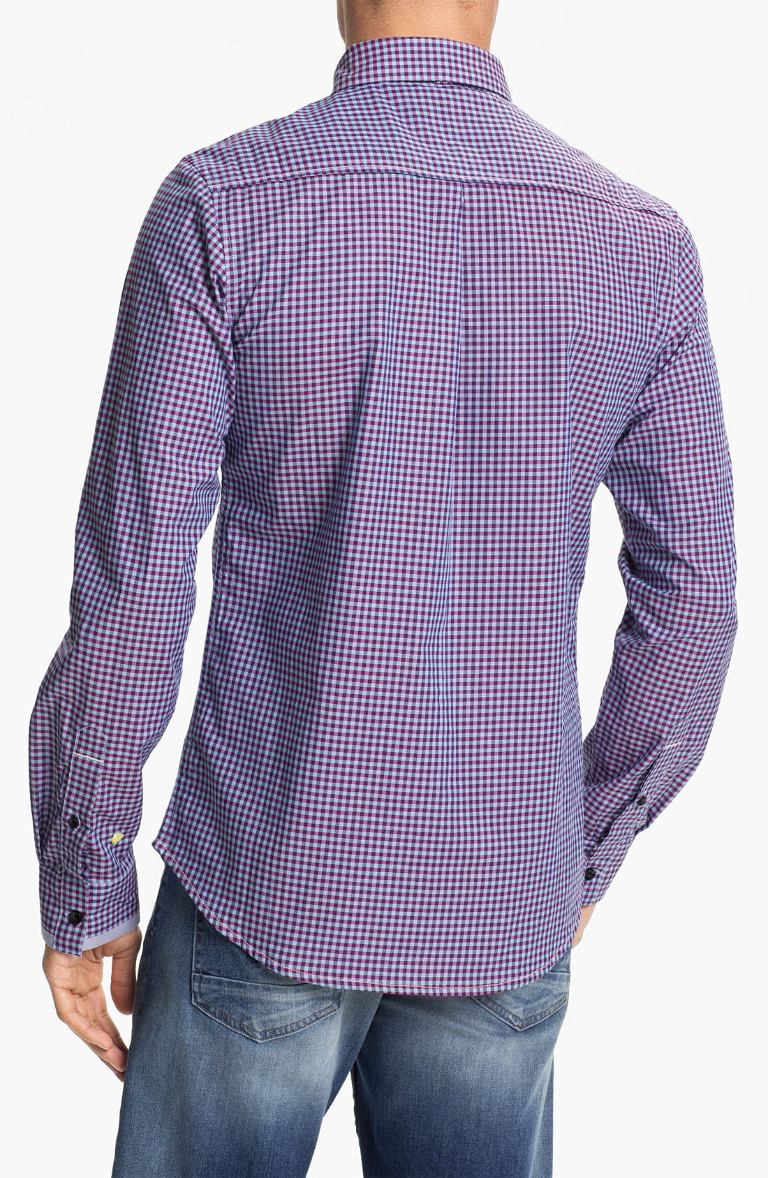 Alternate Image 2  - Descendant of Thieves Gingham Shirt