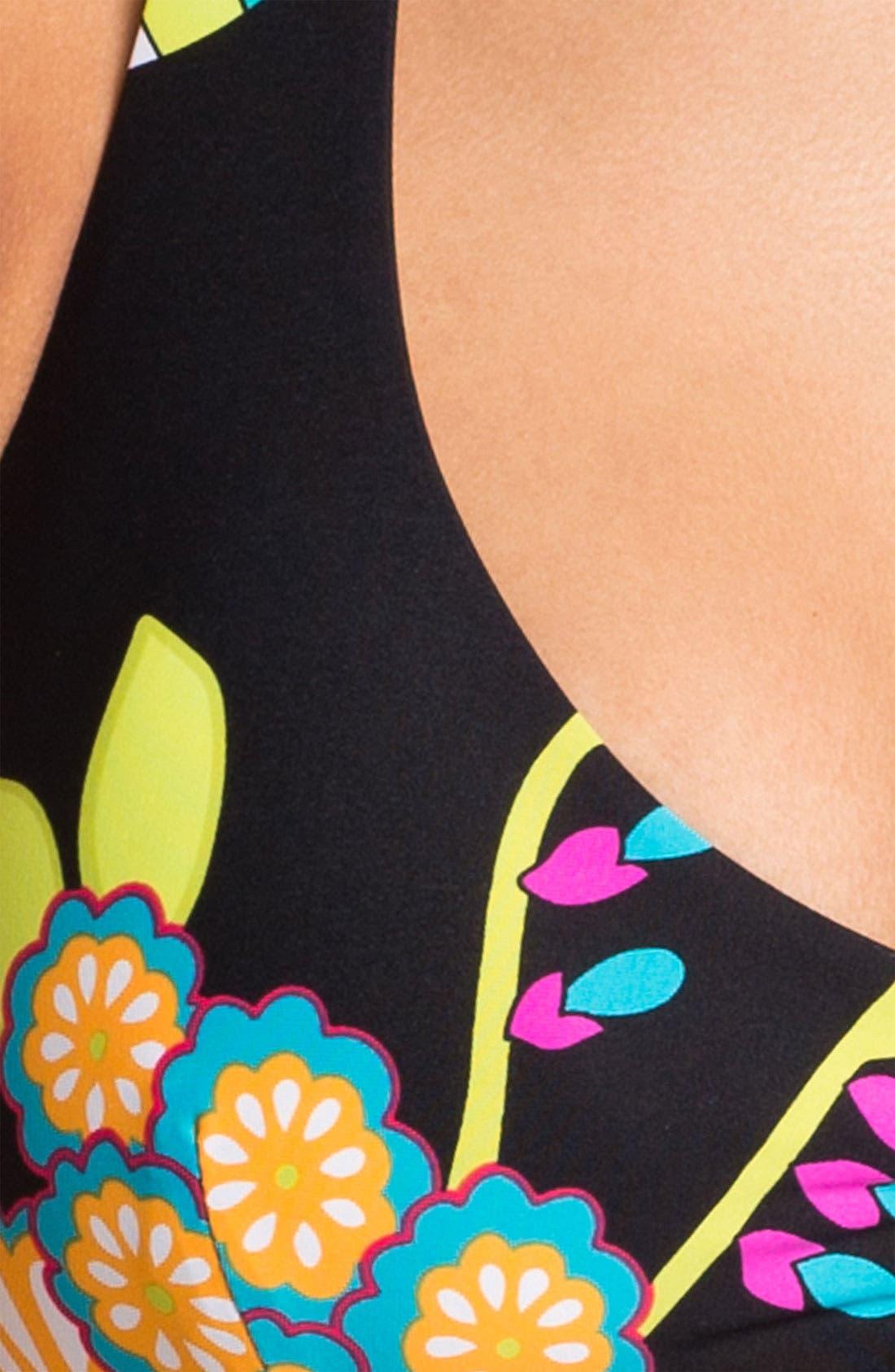 Alternate Image 3  - Trina Turk 'Fuji Fans' Halter Bikini Top