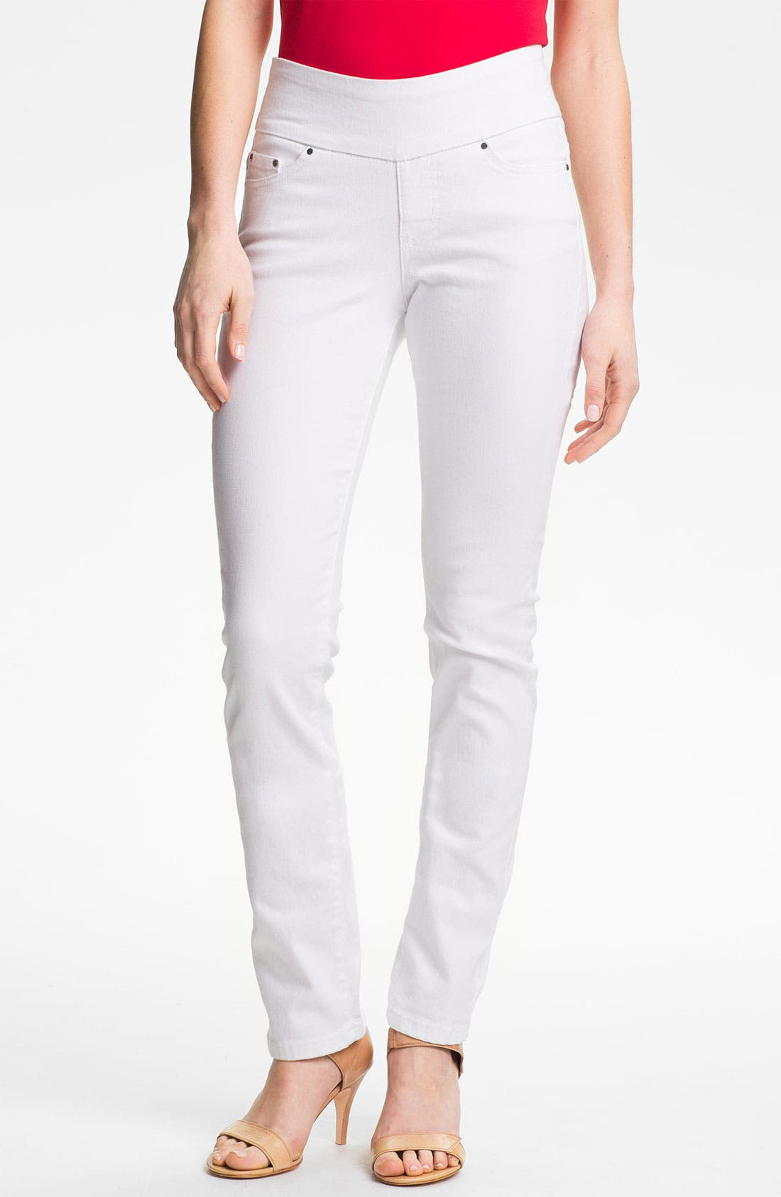 Alternate Image 1 Selected - Jag Jeans 'Peri' Straight Leg Jeans (Petite)