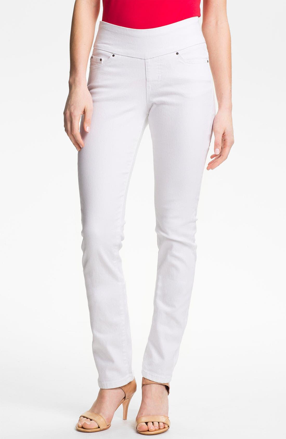Main Image - Jag Jeans 'Peri' Straight Leg Jeans (Petite)