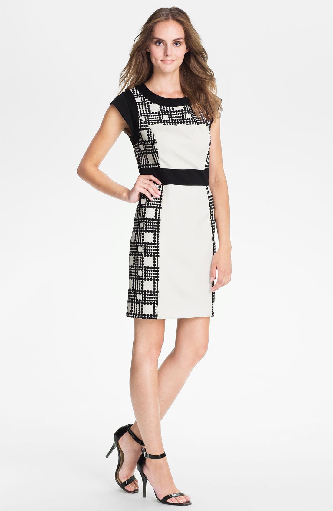 Alternate Image 1 Selected - Laundry by Shelli Segal Print Sheath Dress